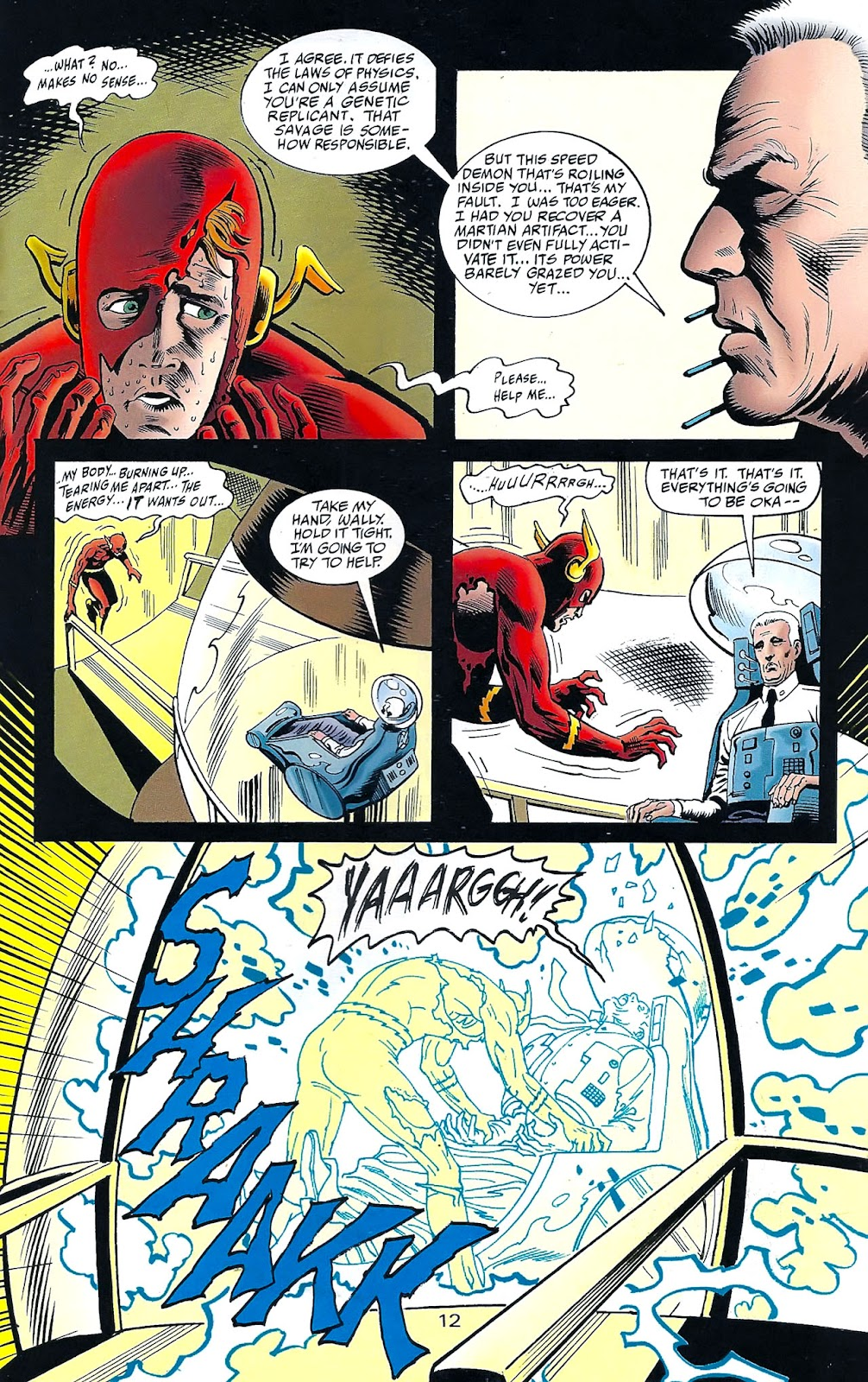 Read online Flashpoint (1999) comic -  Issue #3 - 21