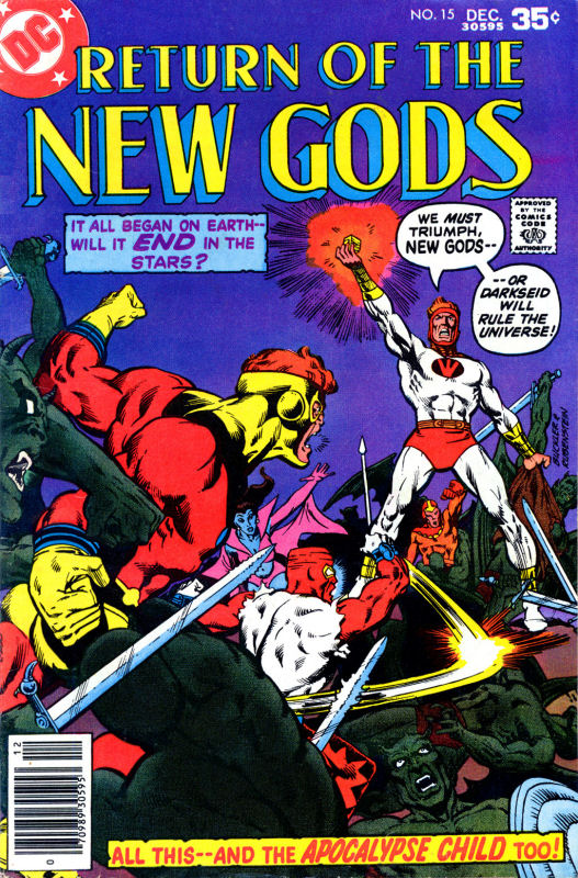 New Gods (1977) issue 15 - Page 1