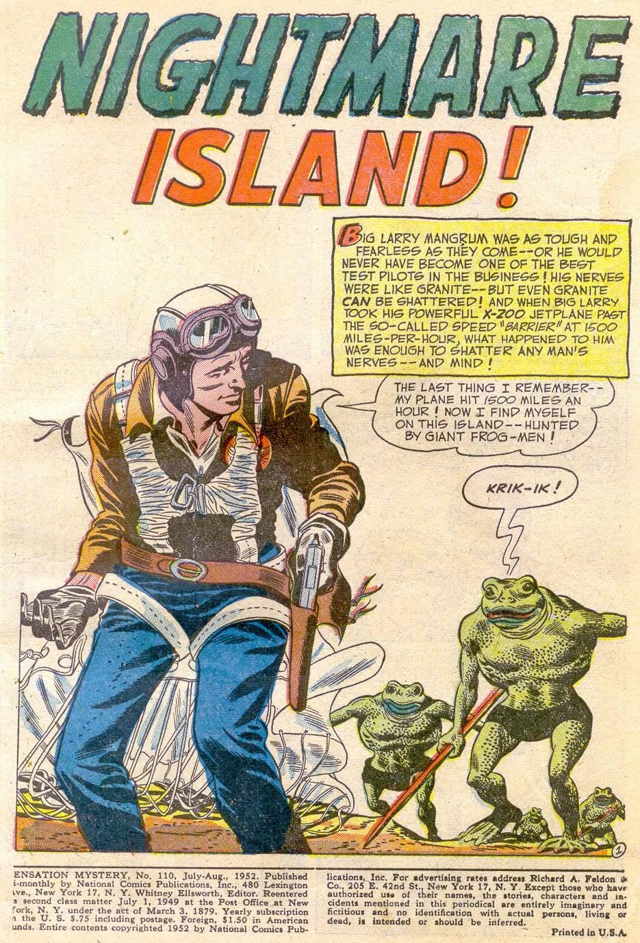 Read online Sensation (Mystery) Comics comic -  Issue #110 - 3