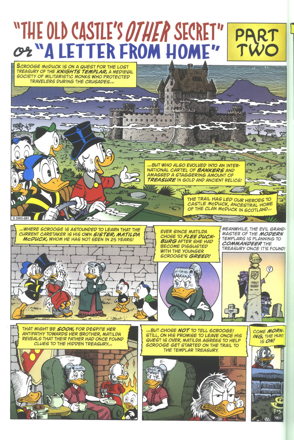 Read online Uncle Scrooge (1953) comic -  Issue #342 - 20