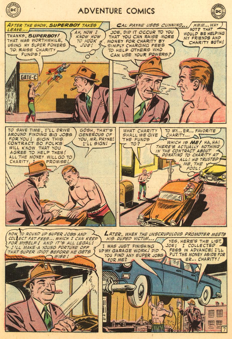 Read online Adventure Comics (1938) comic -  Issue #233 - 9