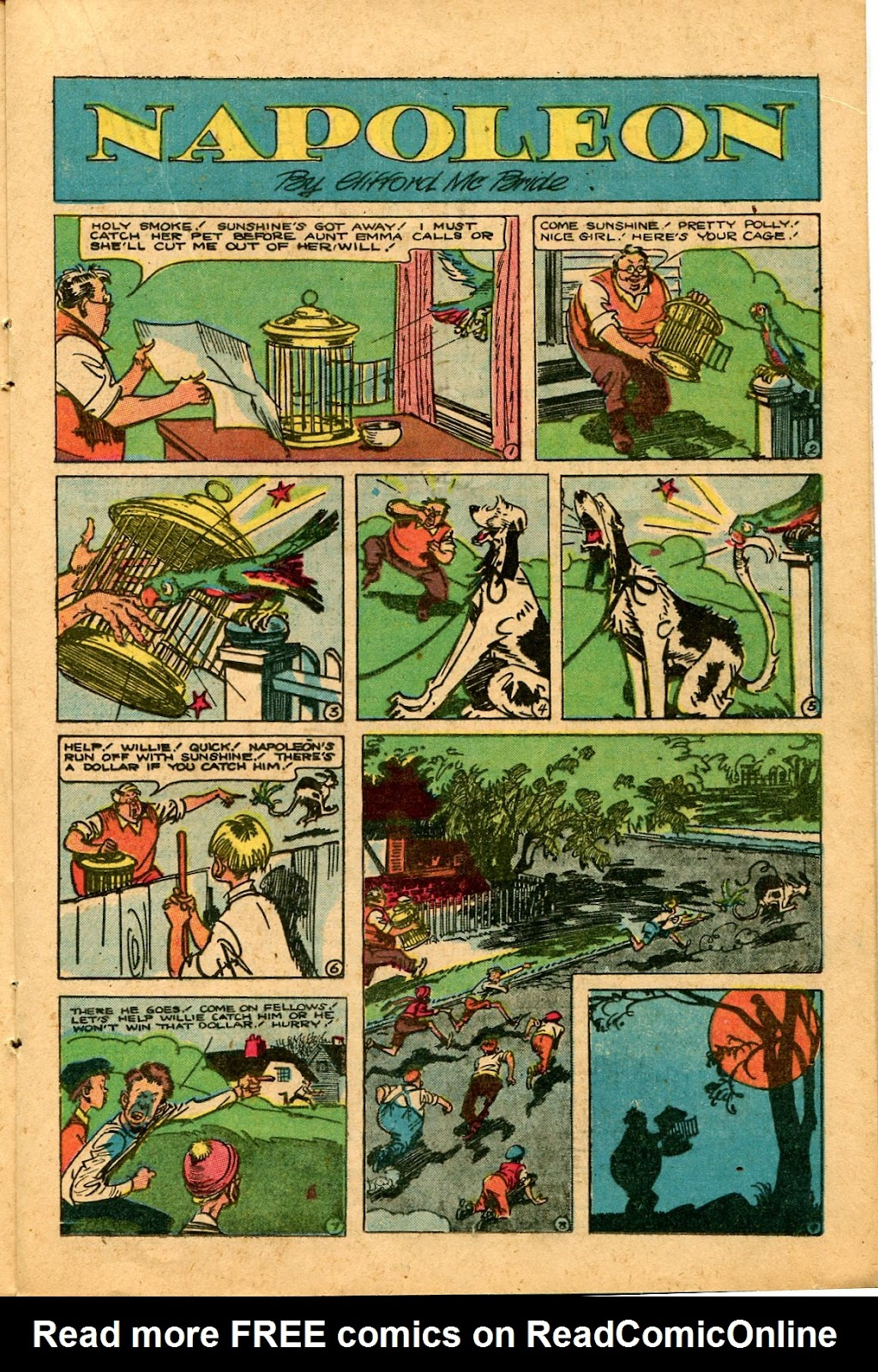 Read online Famous Funnies comic -  Issue #136 - 17