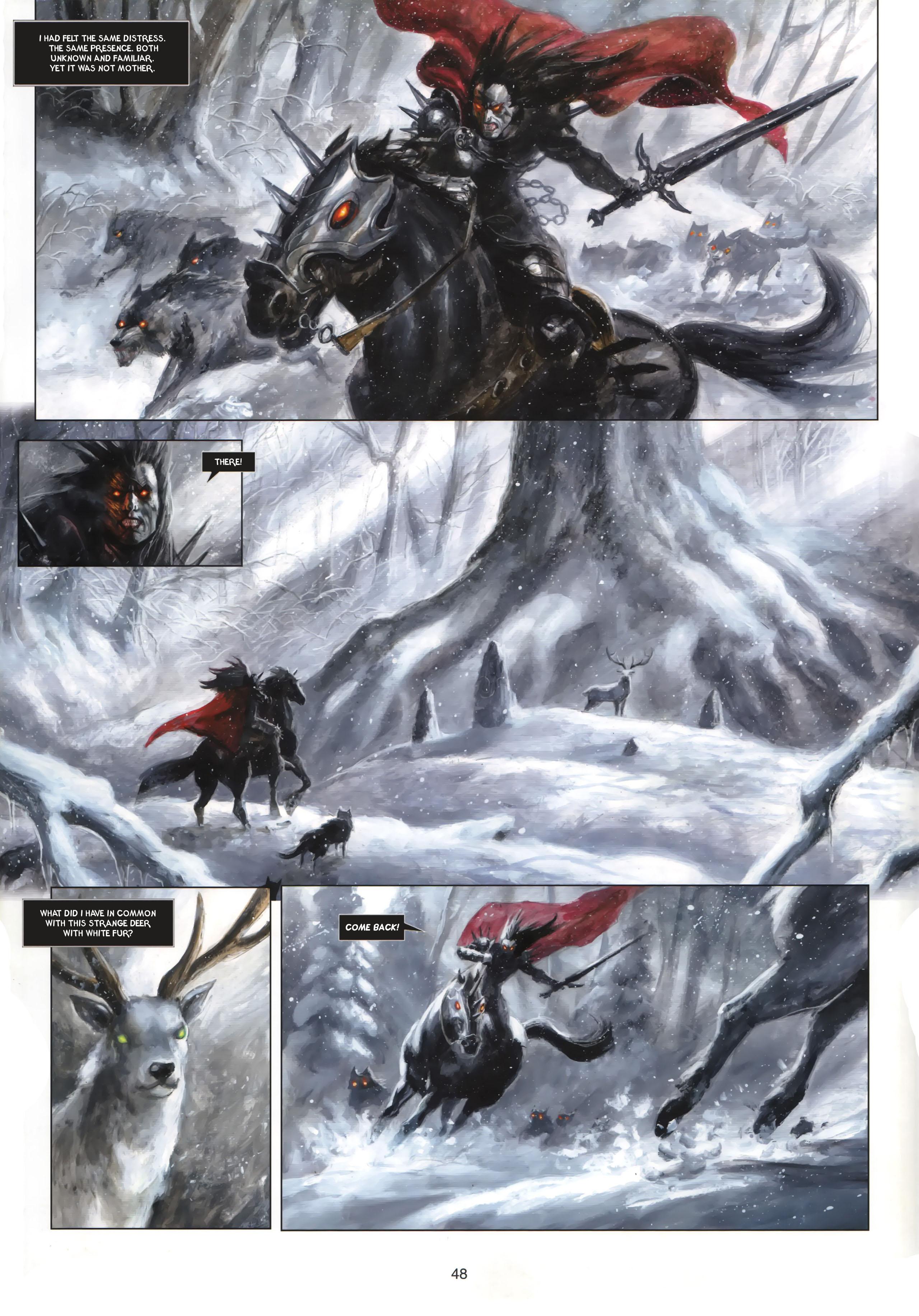 Read online Arawn comic -  Issue #6 - 49