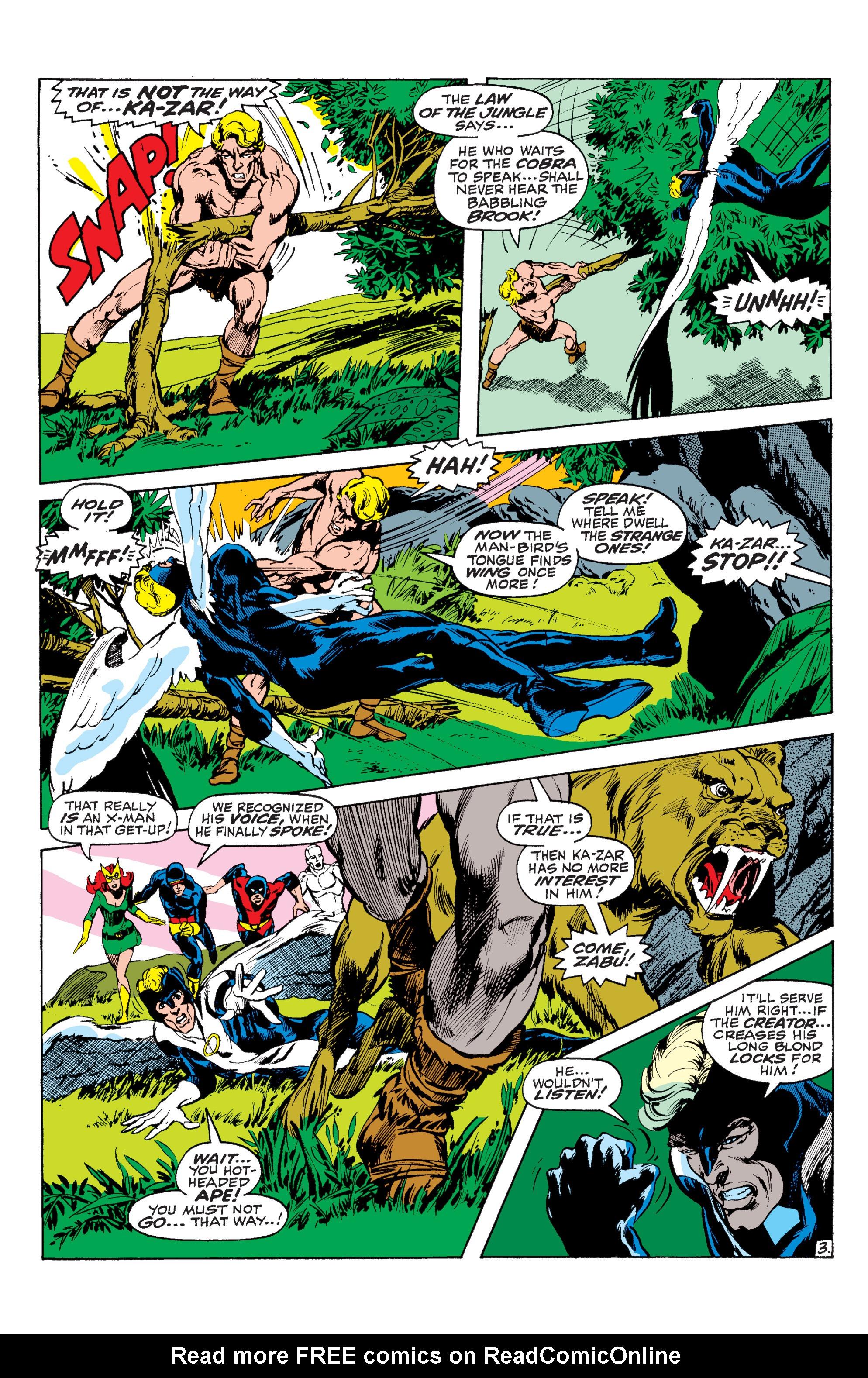 Read online Uncanny X-Men (1963) comic -  Issue #63 - 4
