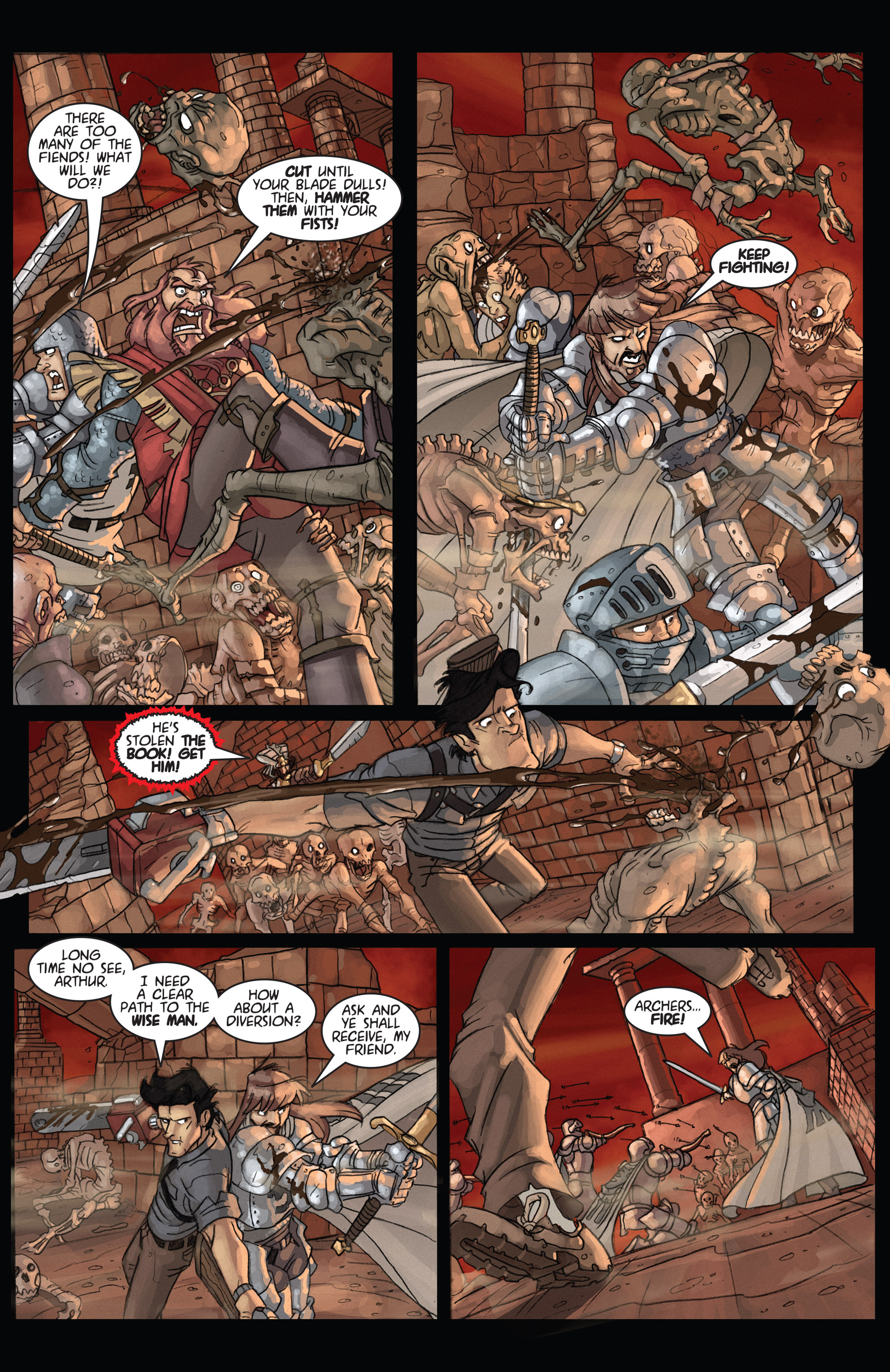 Read online Army of Darkness: Ashes 2 Ashes comic -  Issue #4 - 20