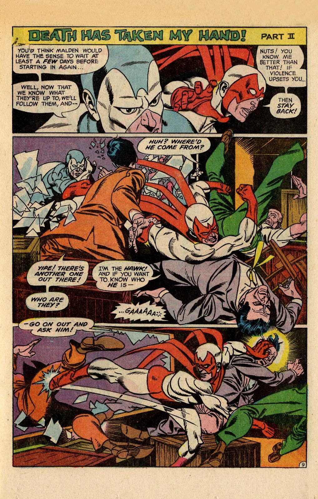 The Hawk and the Dove issue 5 - Page 13