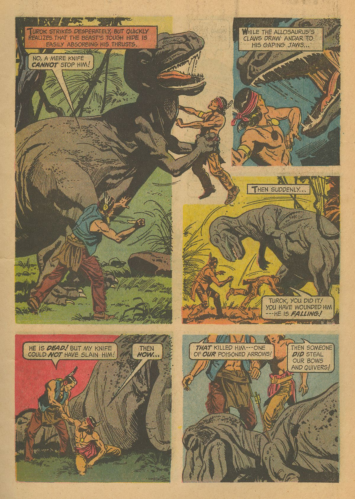 Read online Turok, Son of Stone comic -  Issue #43 - 7