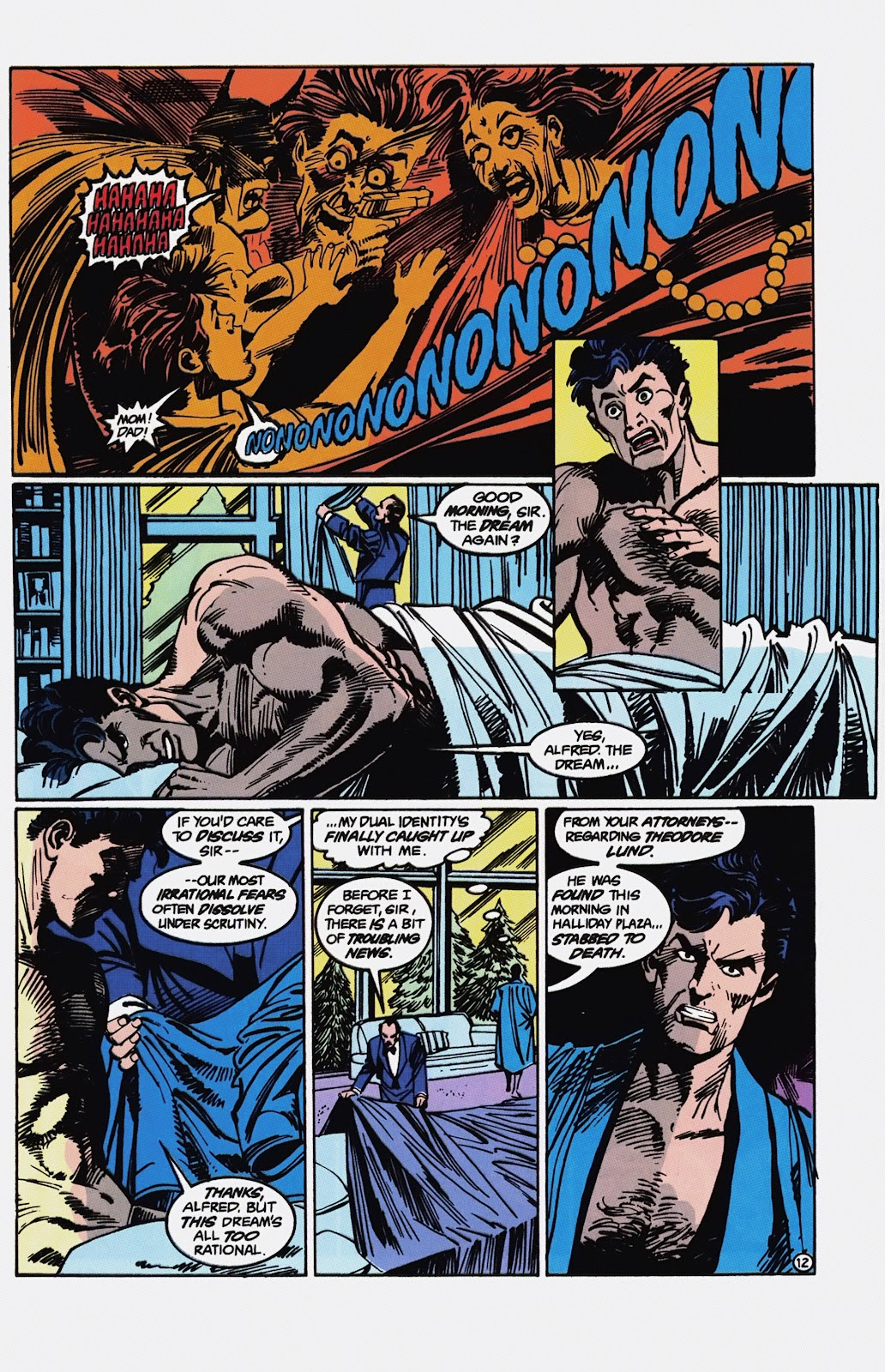 Read online Detective Comics (1937) comic -  Issue # _TPB Batman - Blind Justice (Part 1) - 77