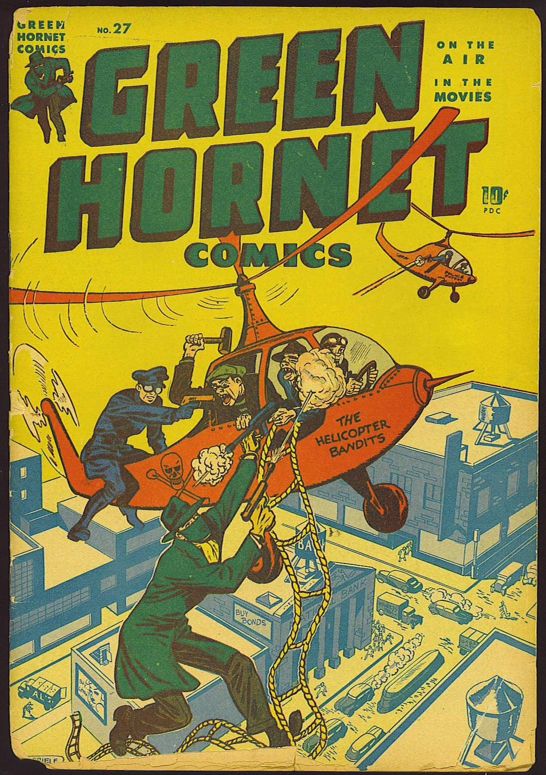 Green Hornet Comics 27 Page 1