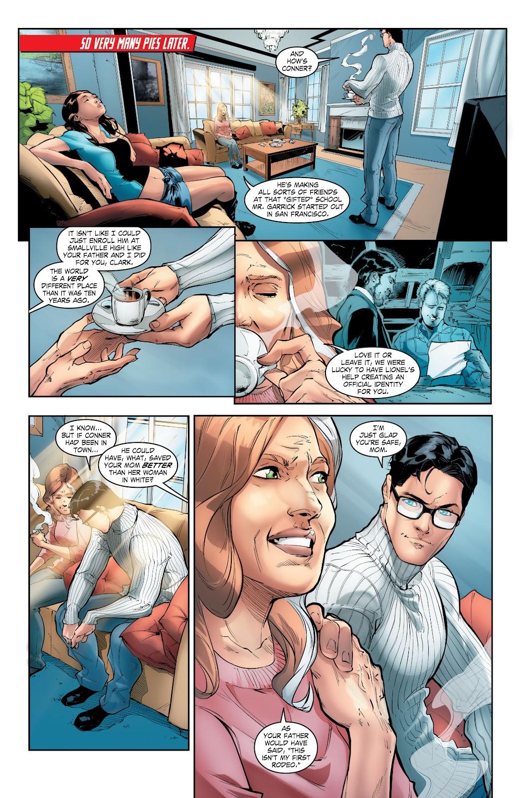 Read online Smallville Season 11 [II] comic -  Issue # TPB 5 - 21
