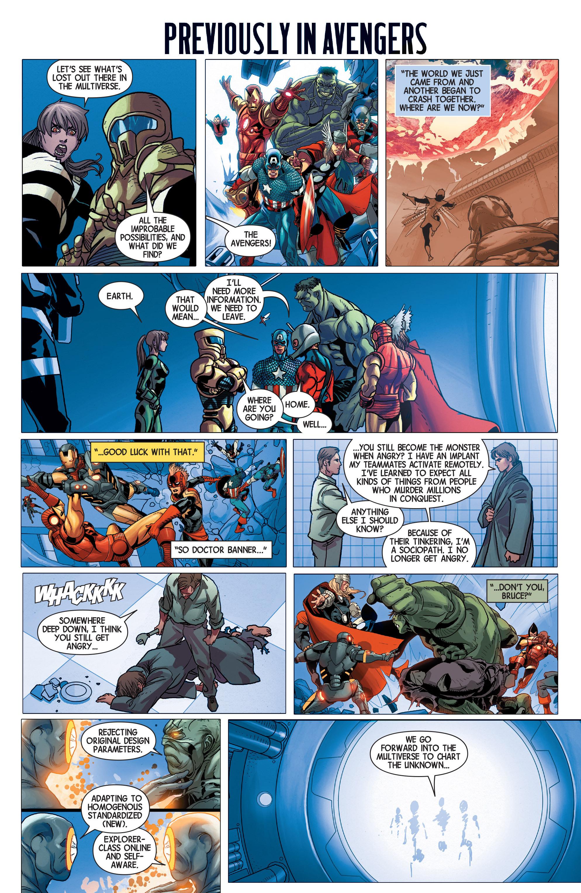 Read online Avengers (2013) comic -  Issue #Avengers (2013) _TPB 5 - 133