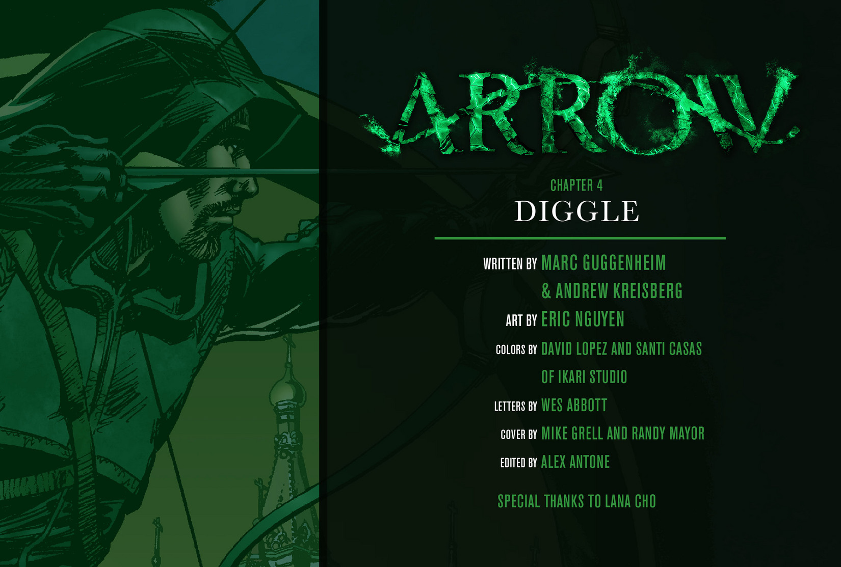 Read online Arrow [II] comic -  Issue #4 - 2