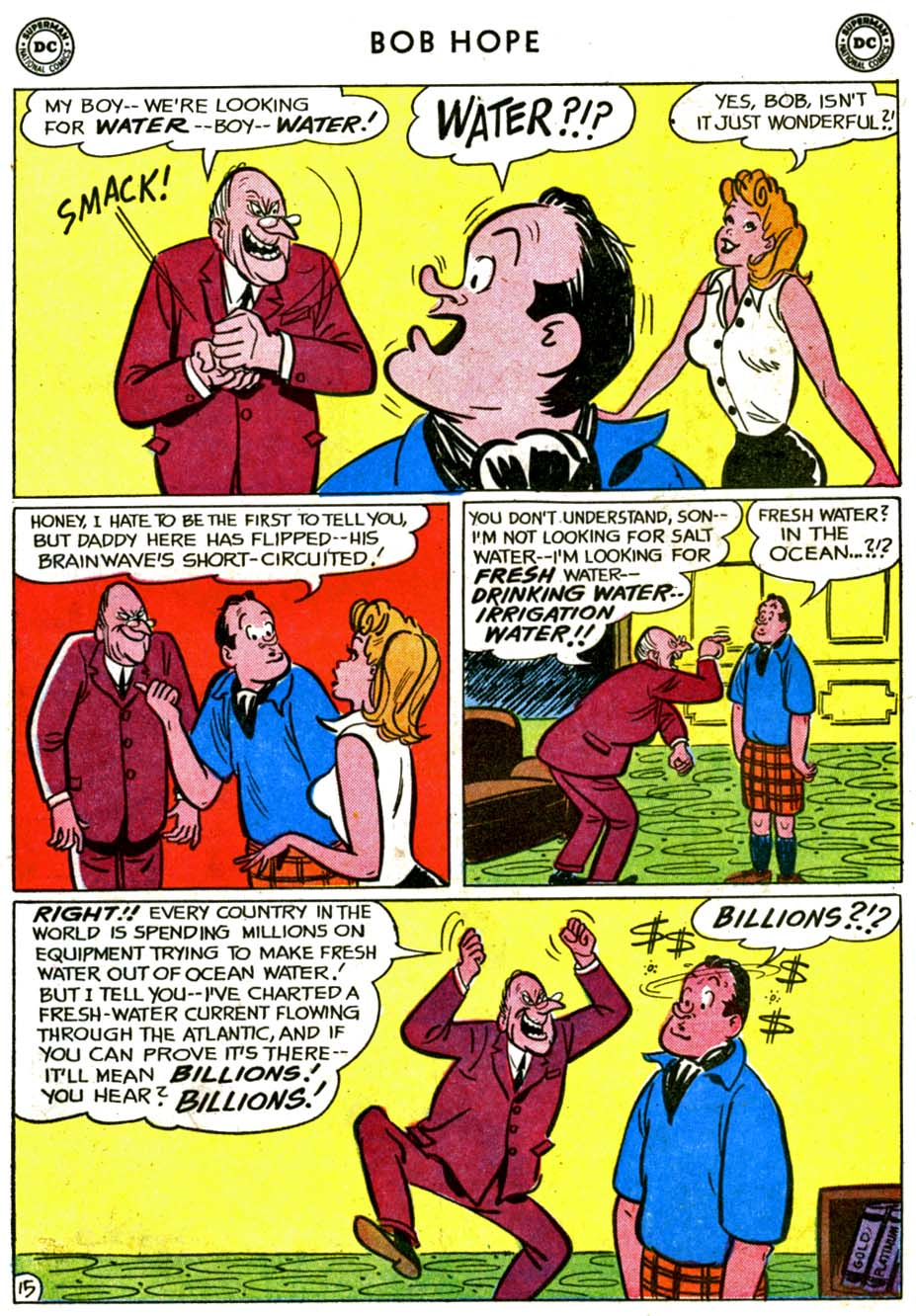 The Adventures of Bob Hope issue 72 - Page 19