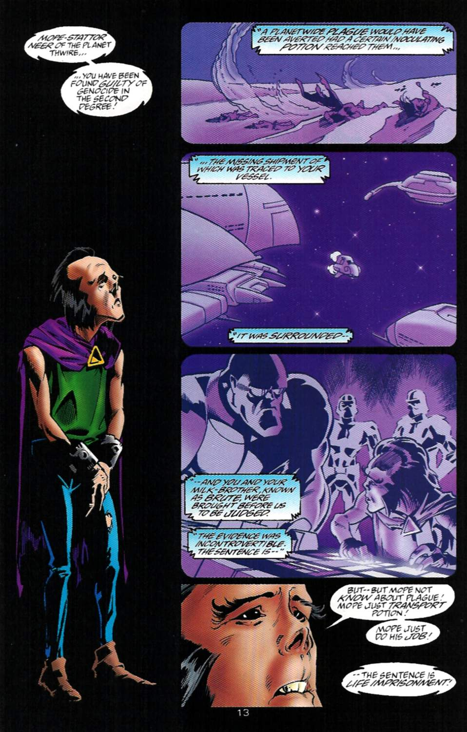 Read online Adventures of Superman (1987) comic -  Issue #529 - 14