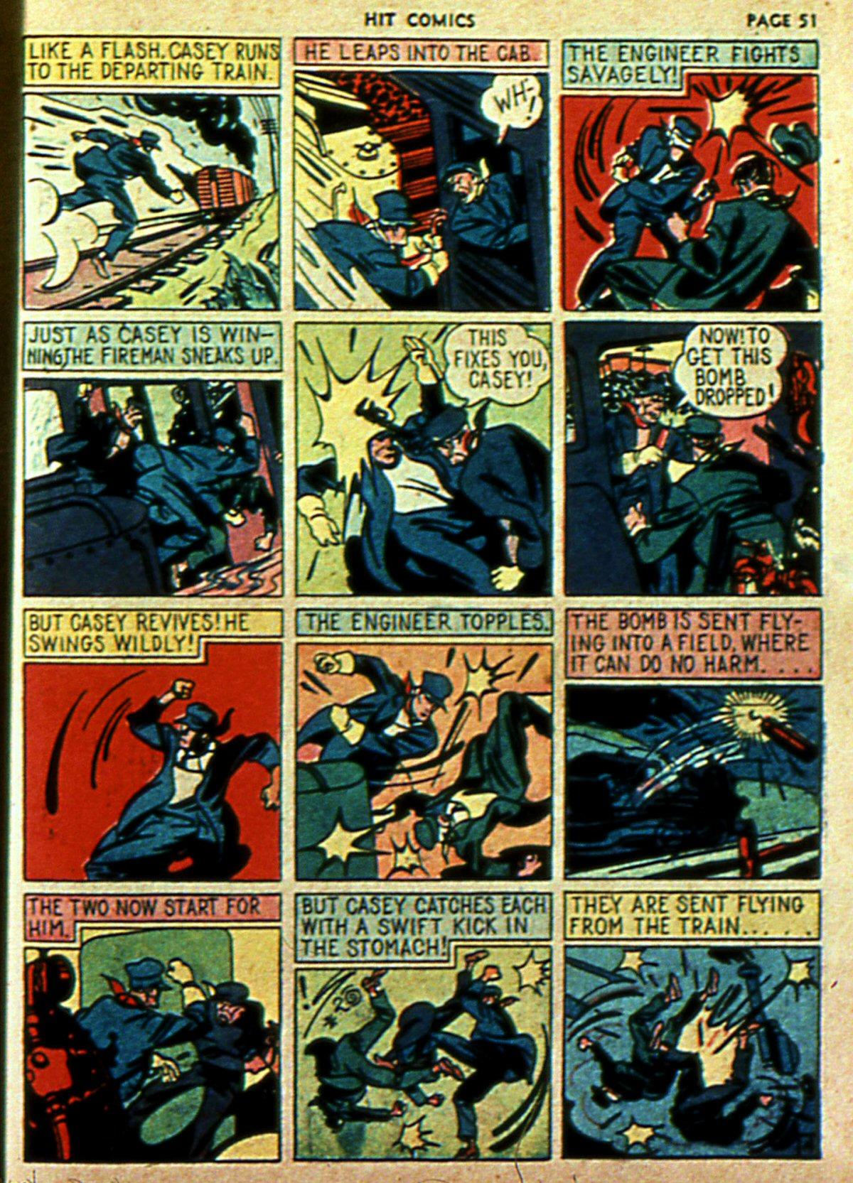Read online Hit Comics comic -  Issue #2 - 53