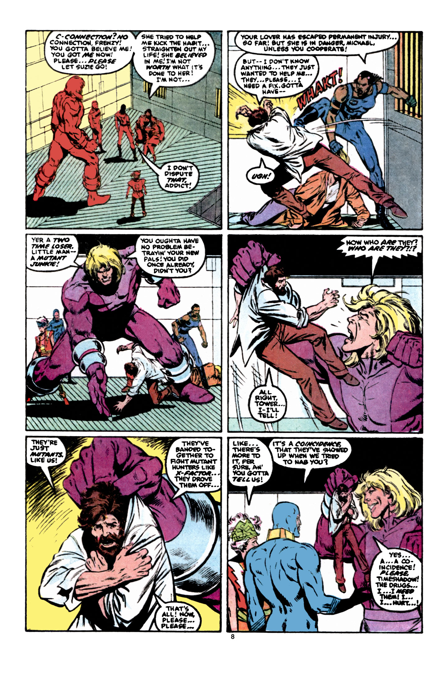Read online X-Factor (1986) comic -  Issue #6 - 9