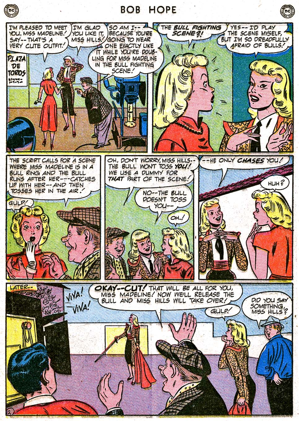The Adventures of Bob Hope issue 8 - Page 30