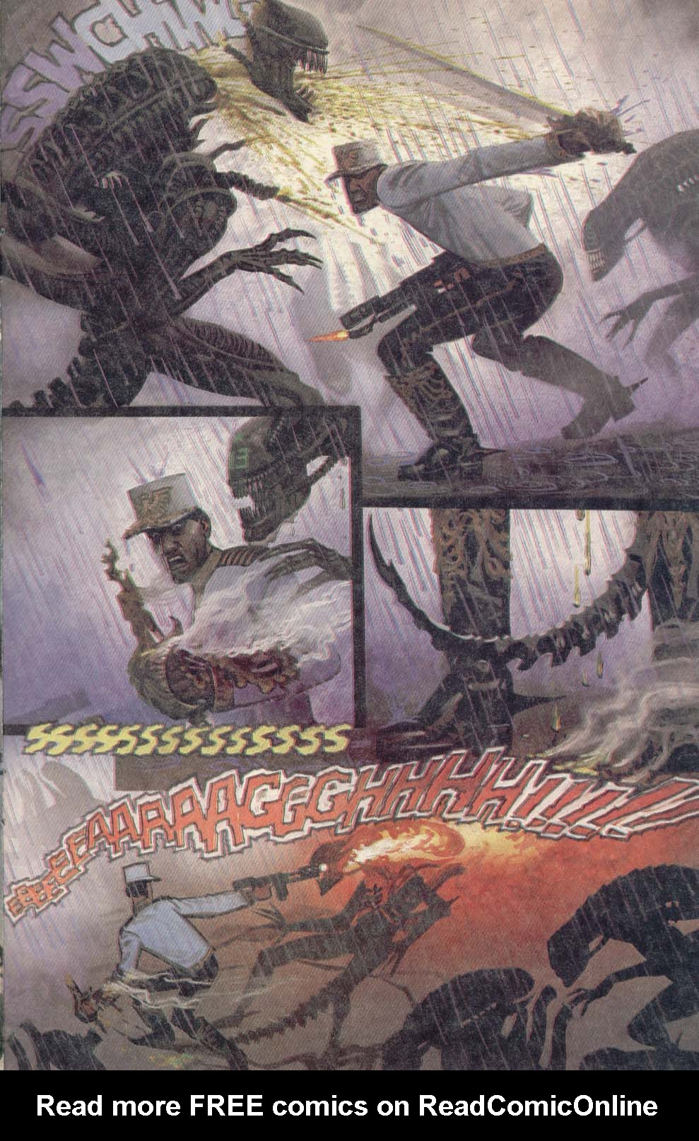 Read online Aliens (1989) comic -  Issue #4 - 21