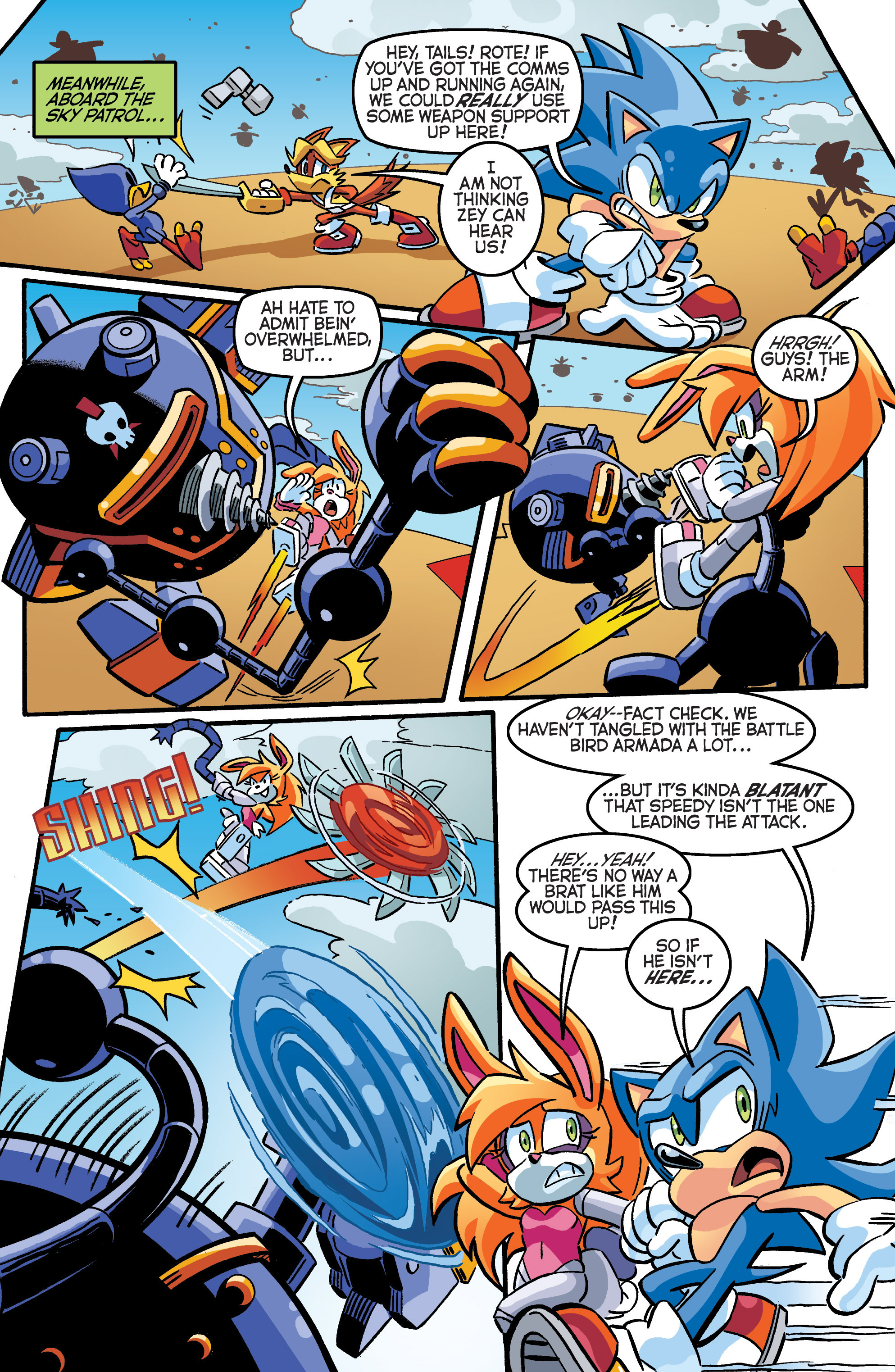 Read online Sonic The Hedgehog comic -  Issue #284 - 14