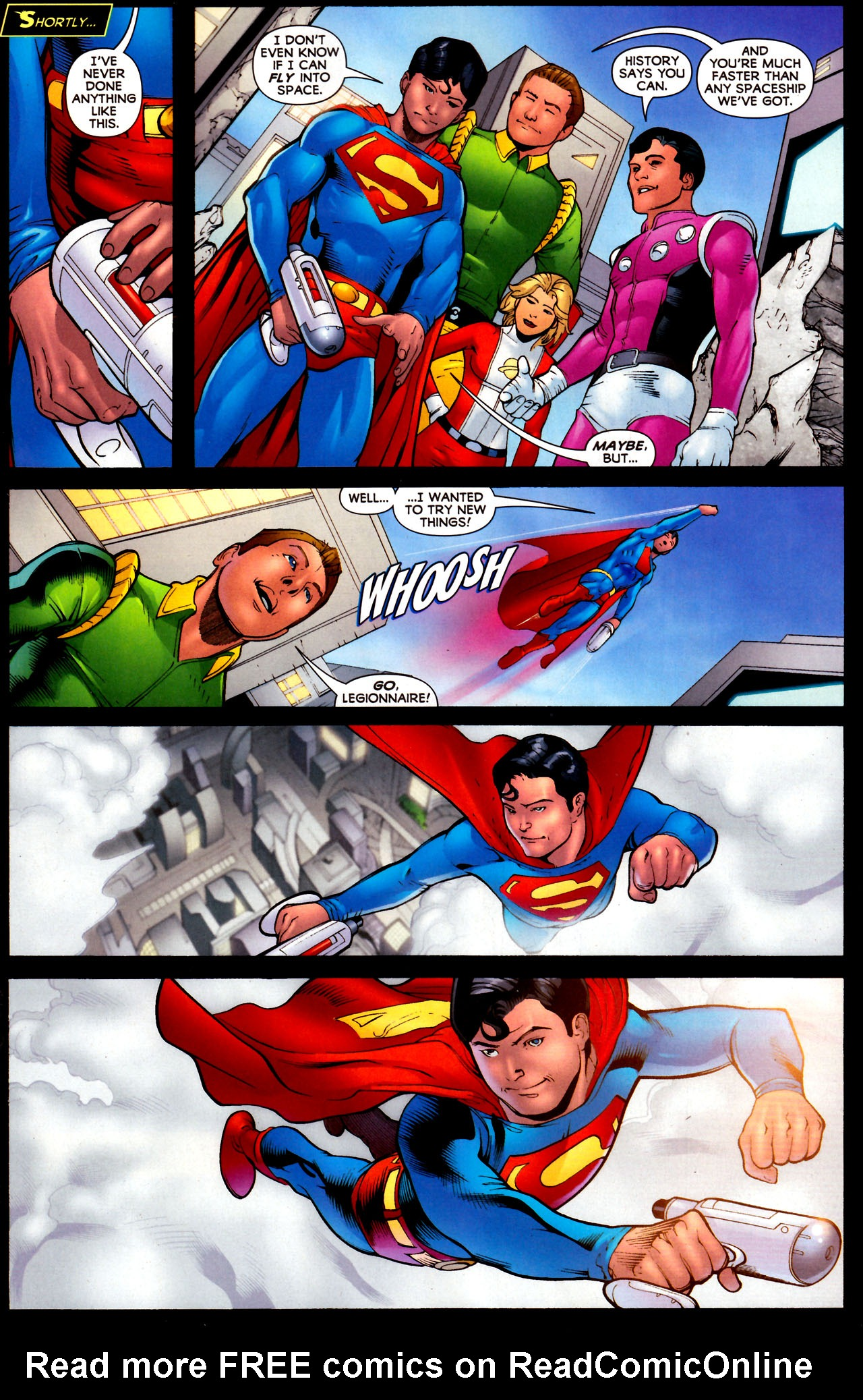 Read online Adventure Comics (2009) comic -  Issue #12 - 13