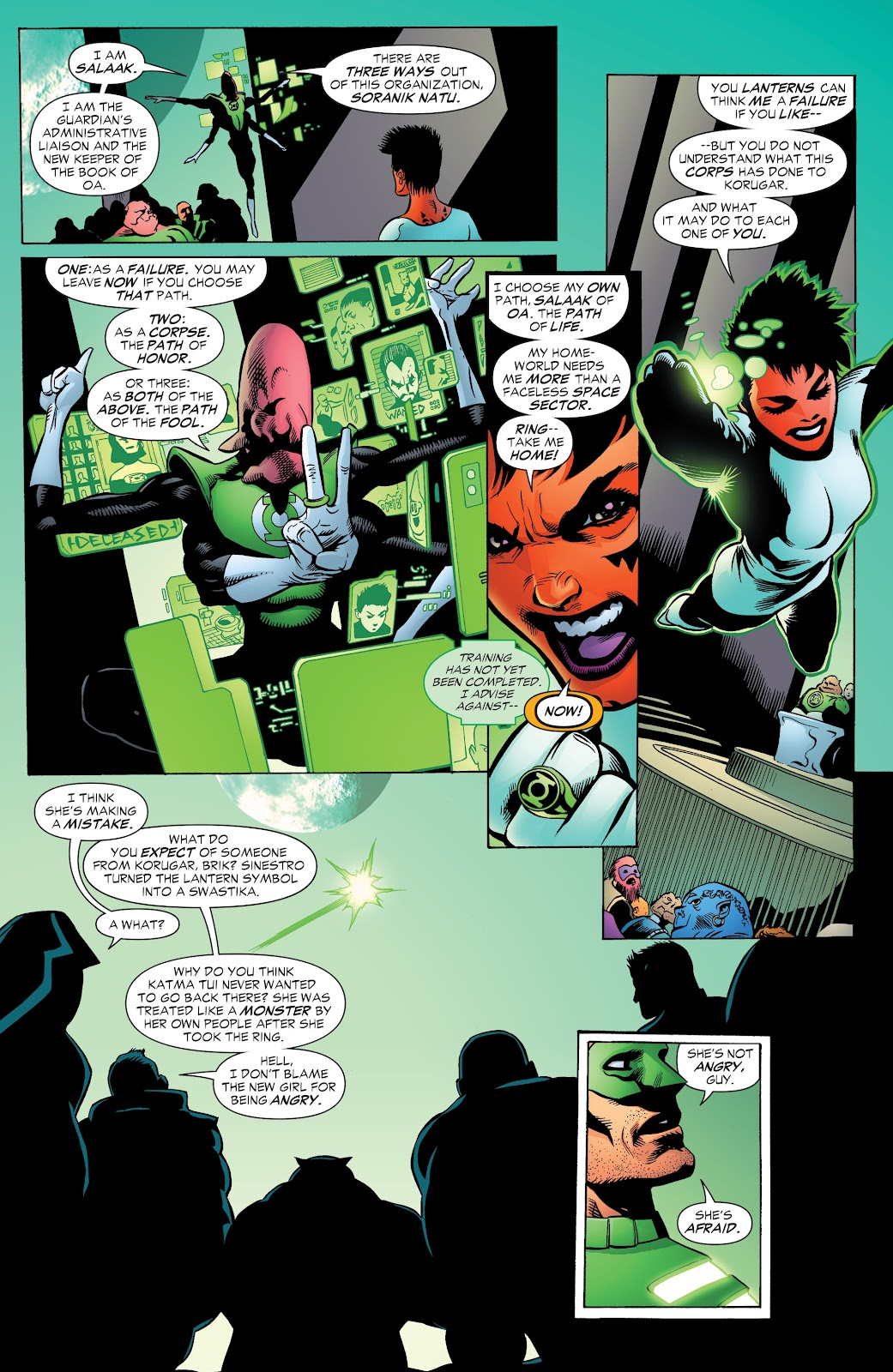 Read online Green Lantern by Geoff Johns comic -  Issue # TPB 1 (Part 2) - 96