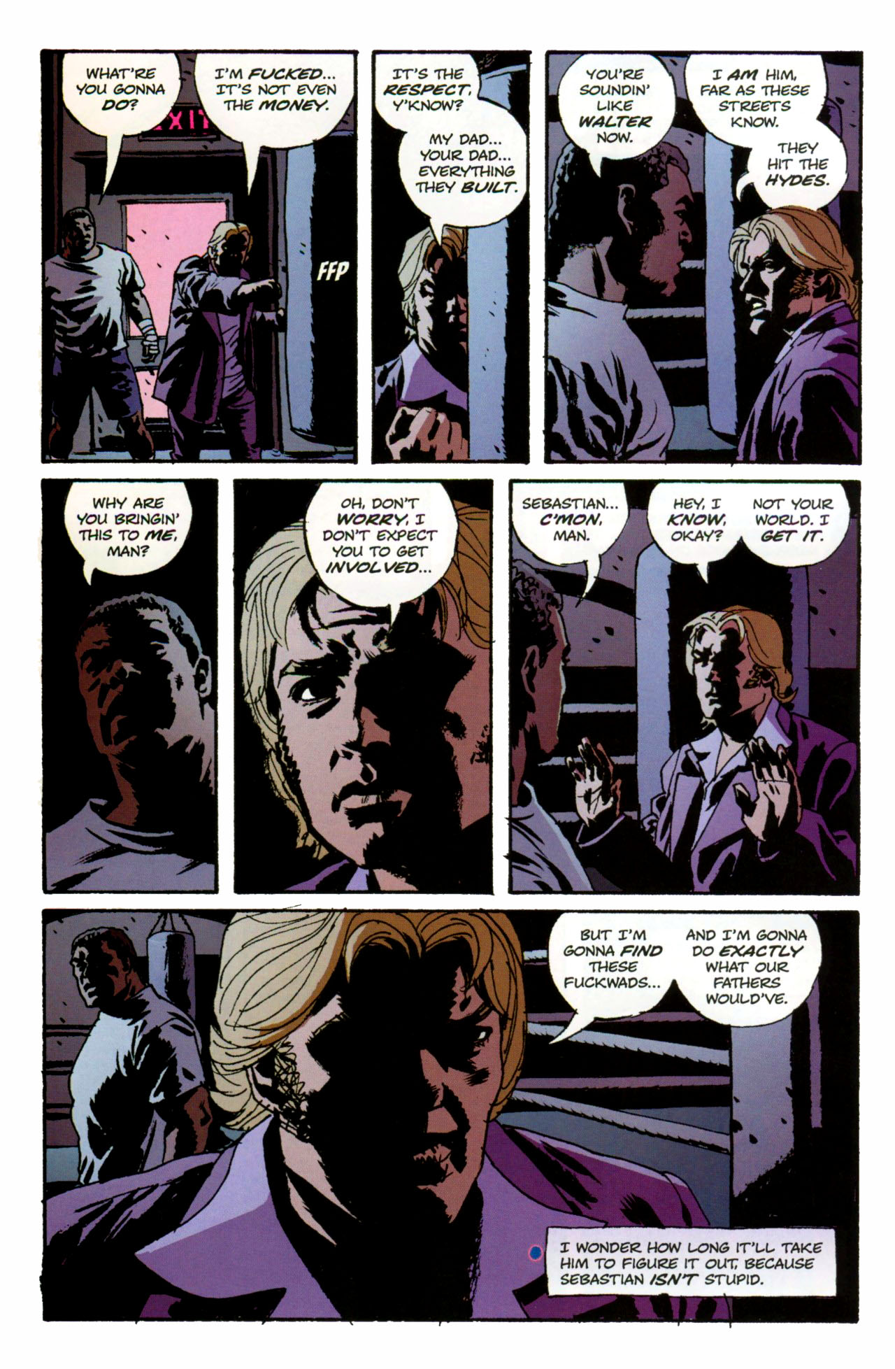 Read online Criminal (2008) comic -  Issue #1 - 25