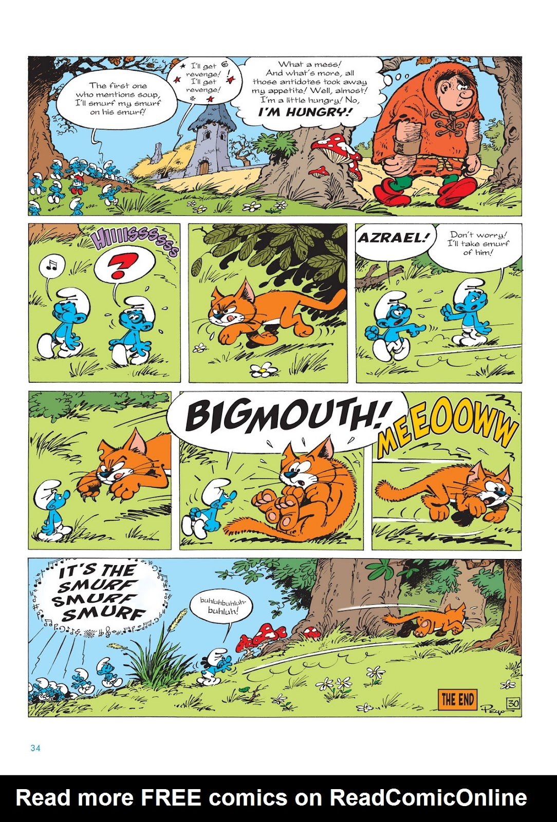 Read online The Smurfs comic -  Issue #13 - 34