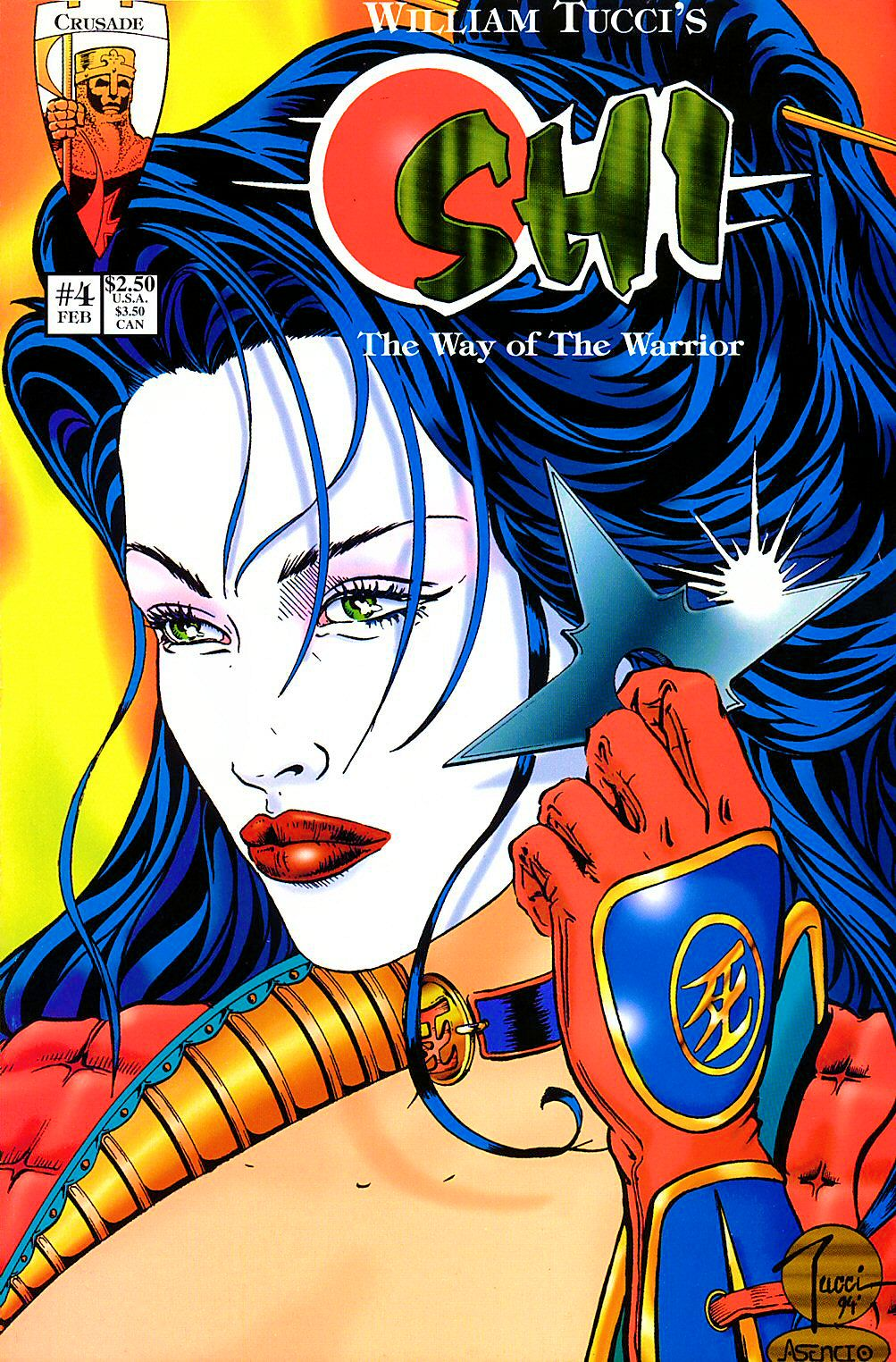 Read online Shi: The Way of the Warrior comic -  Issue #4 - 1