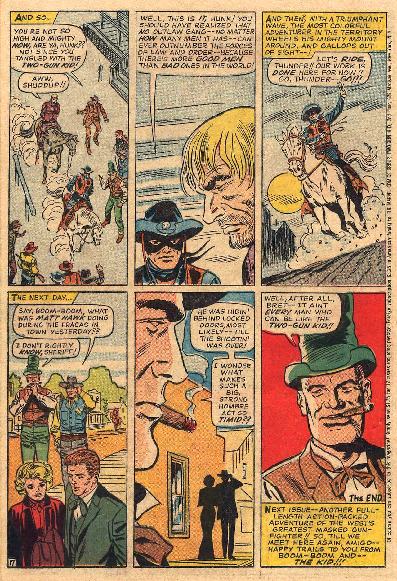 Read online Two-Gun Kid comic -  Issue #73 - 25