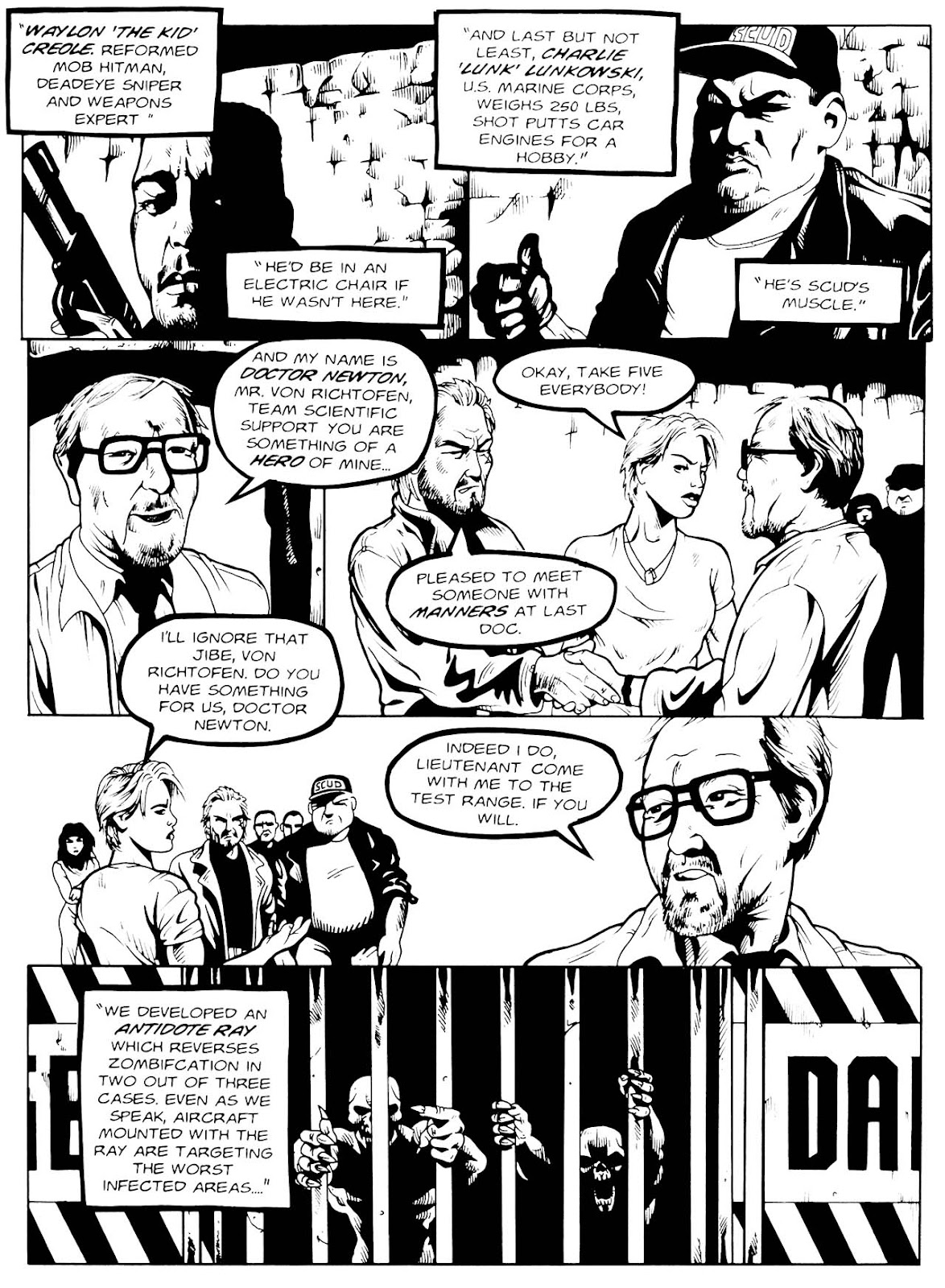 Read online Night of the Living Dead (1994) comic -  Issue #3 - 12