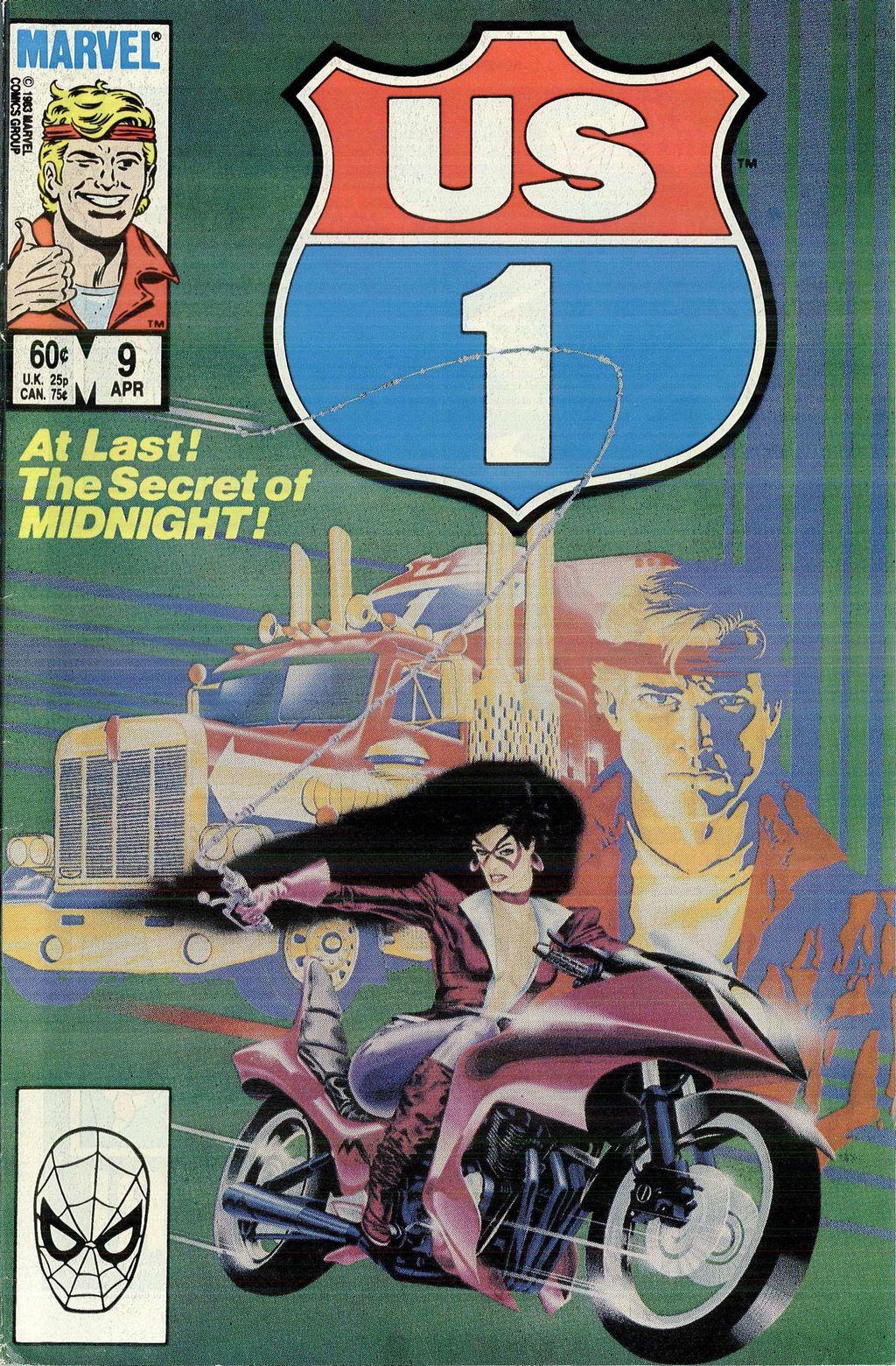Read online U.S. 1 comic -  Issue #9 - 1