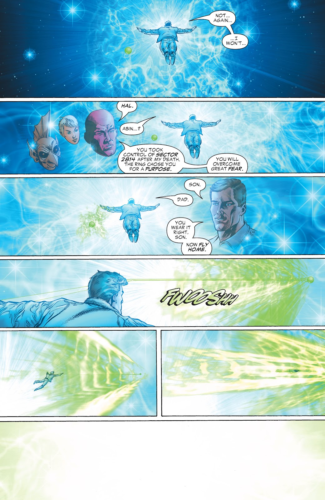 Read online Green Lantern by Geoff Johns comic -  Issue # TPB 1 (Part 2) - 8