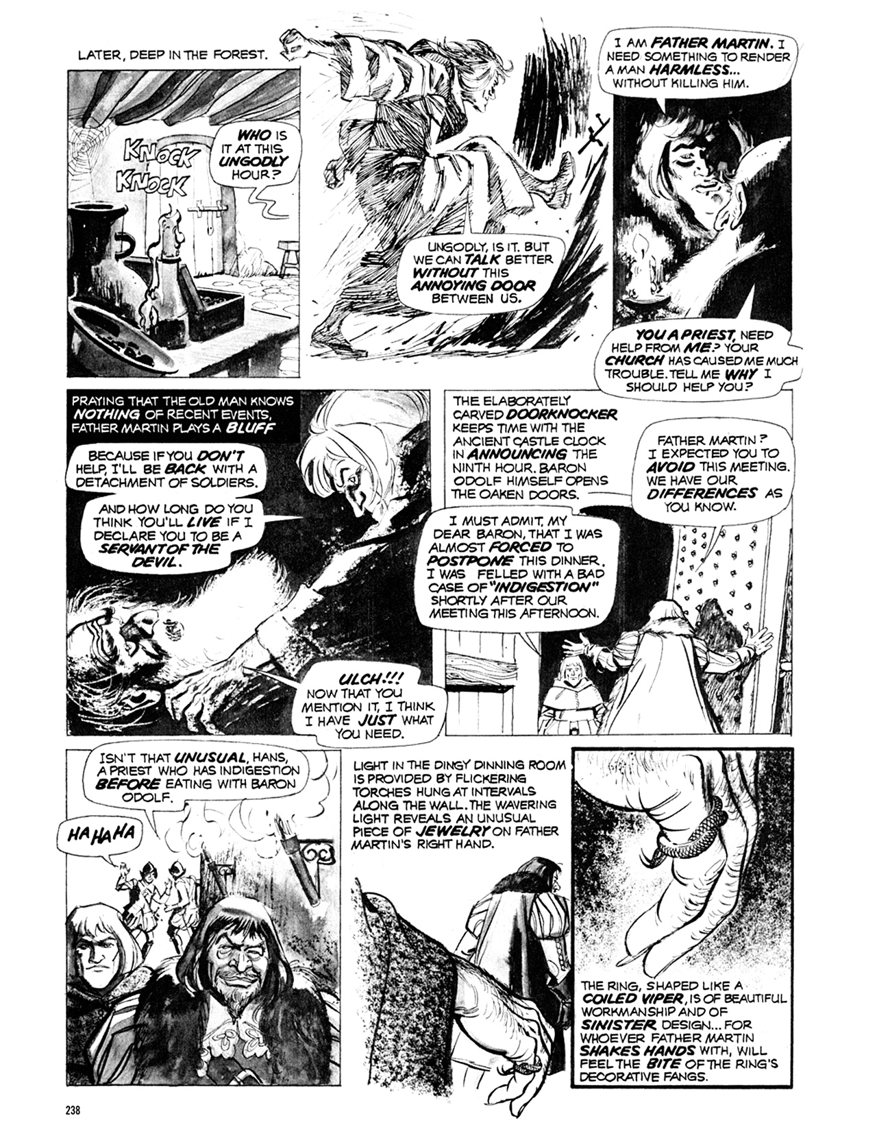 Read online Eerie Archives comic -  Issue # TPB 10 - 239