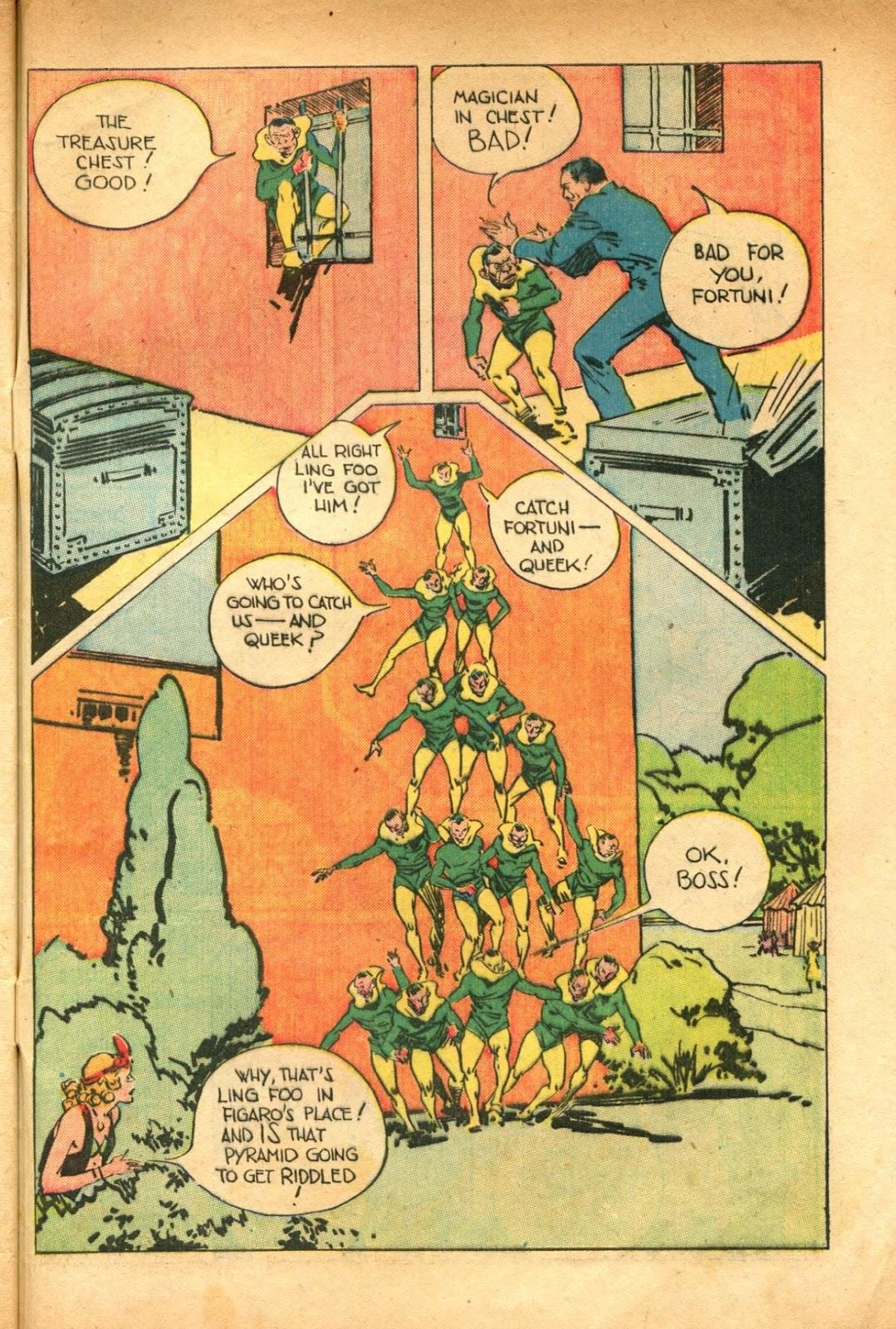 Read online Super-Magician Comics comic -  Issue #51 - 49