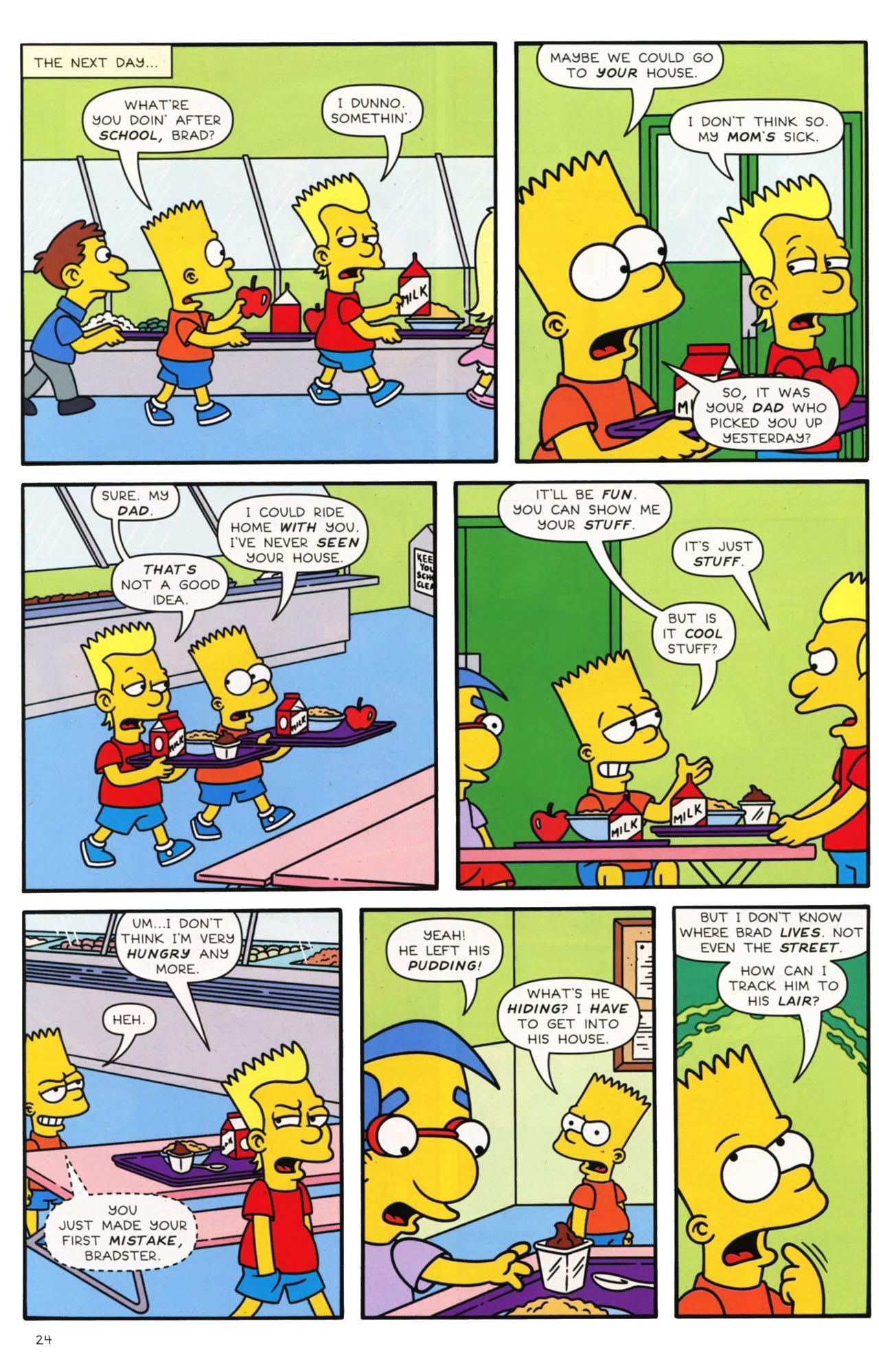 Read online Simpsons Comics comic -  Issue #169 - 19