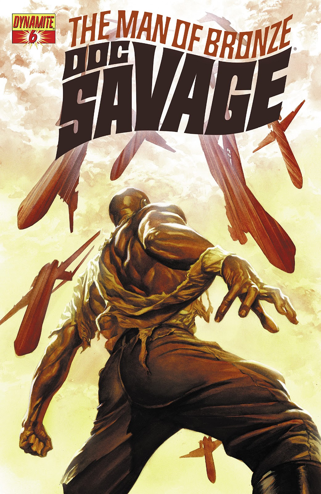Doc Savage (2013) issue 6 - Page 1