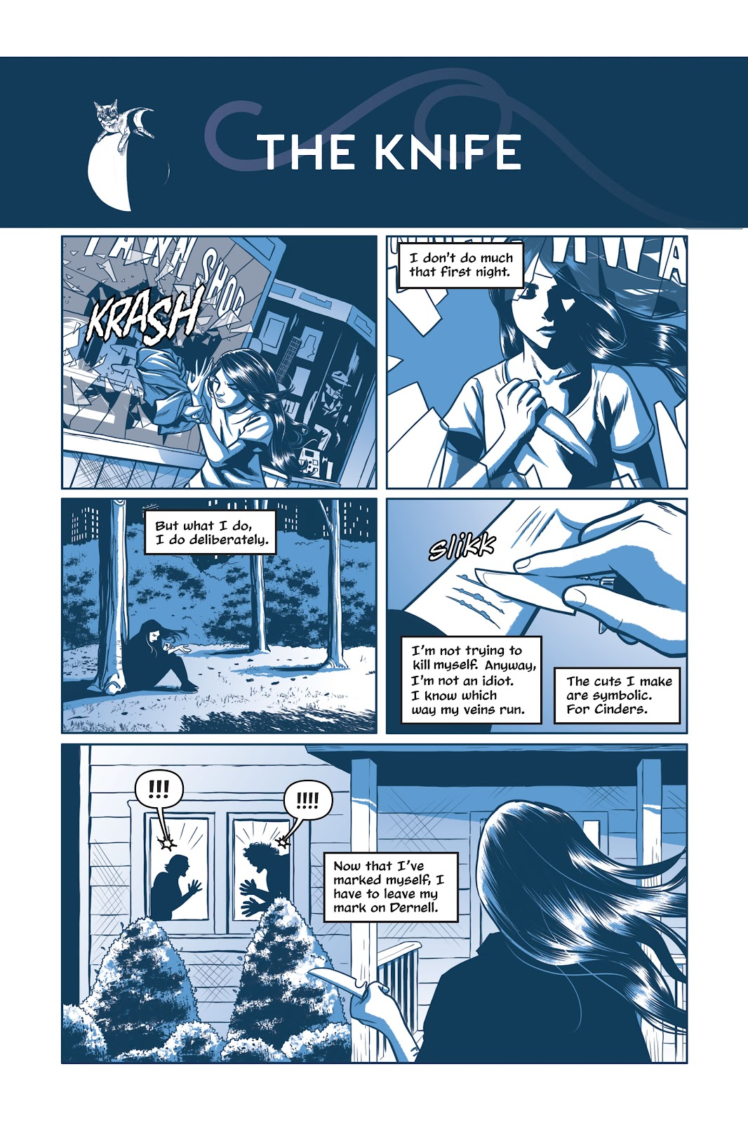 Read online Under the Moon: A Catwoman Tale comic -  Issue # TPB (Part 1) - 70