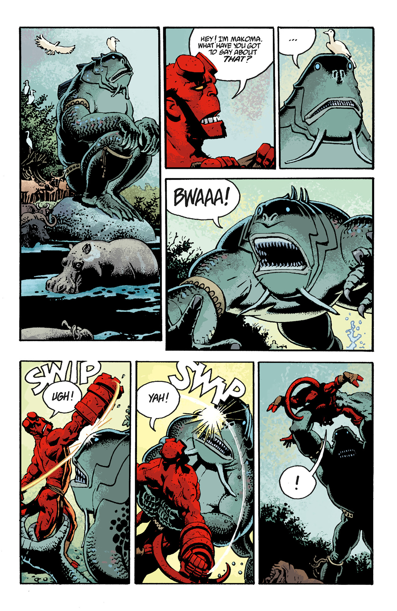 Read online Hellboy: The Troll Witch and Others comic -  Issue # TPB - 99