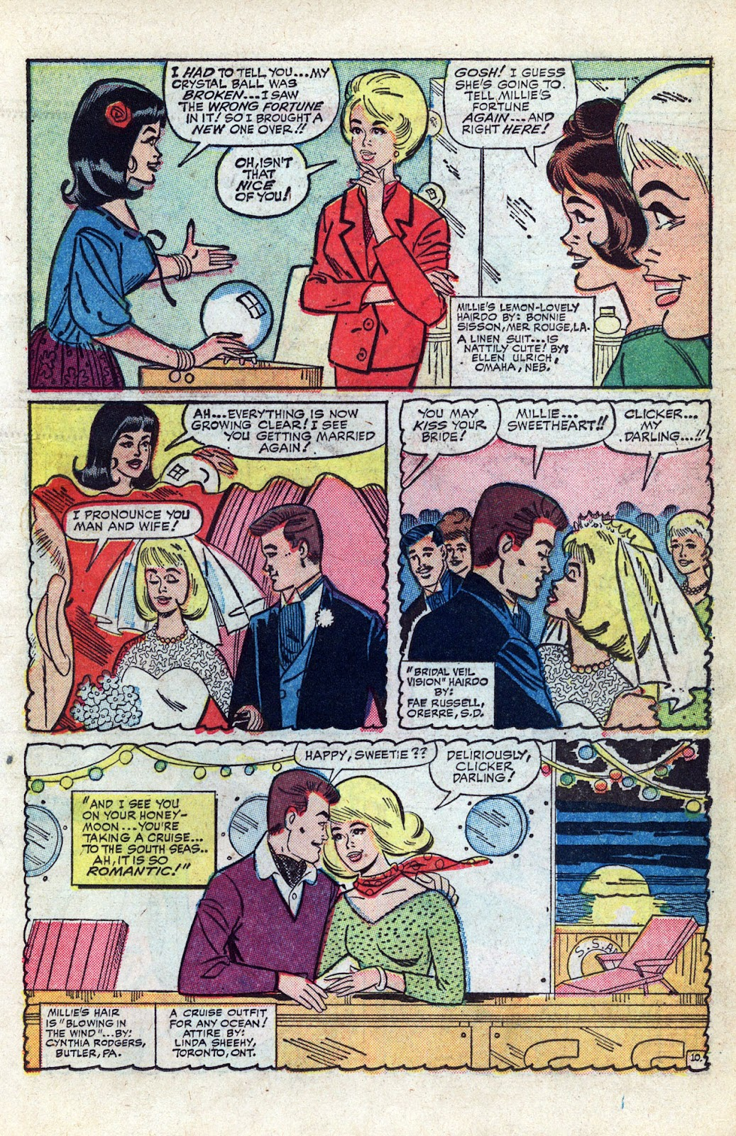 Read online Millie the Model comic -  Issue # Annual 3 - 51