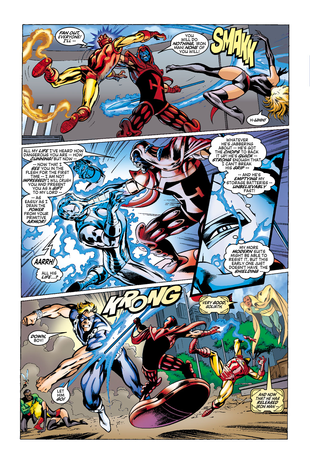 Read online Avengers (1998) comic -  Issue #41 - 14