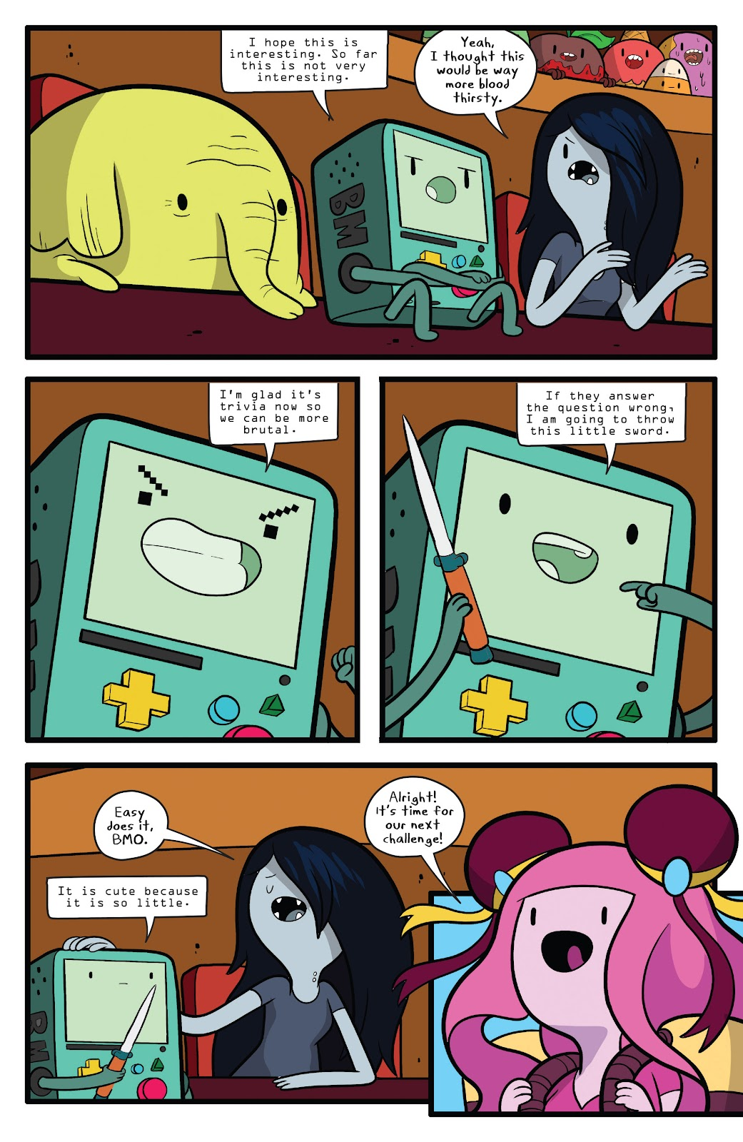 Read online Adventure Time comic -  Issue #63 - 13