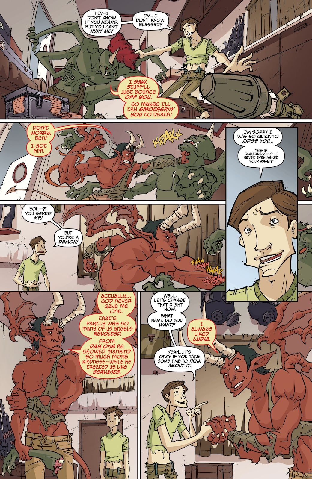 Read online The End Times of Bram and Ben comic -  Issue #4 - 18