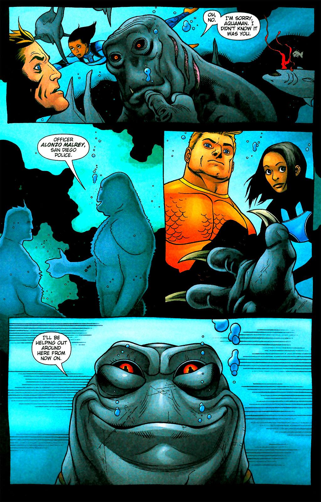 Read online Aquaman (2003) comic -  Issue #28 - 16