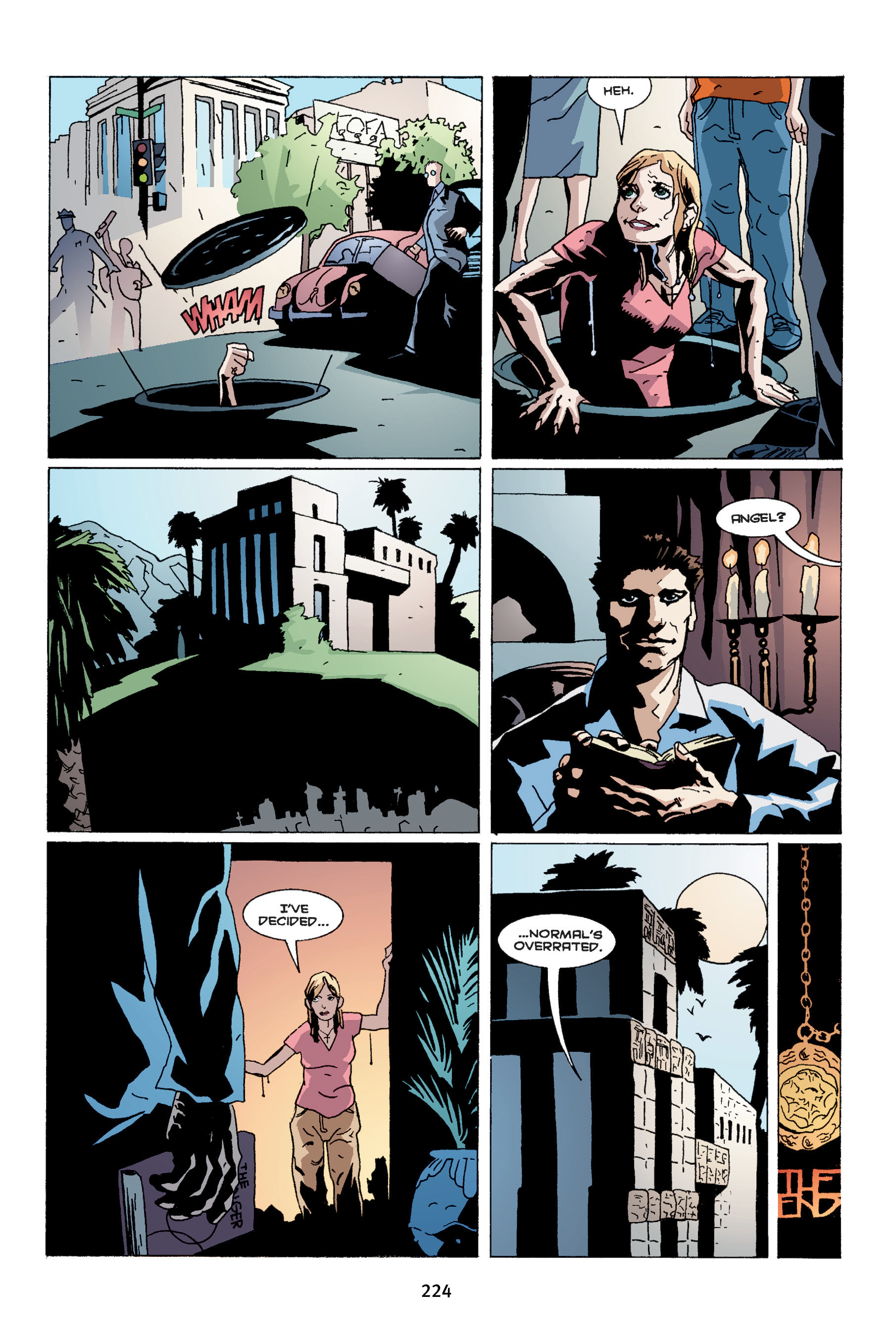 Read online Buffy the Vampire Slayer: Omnibus comic -  Issue # TPB 4 - 222