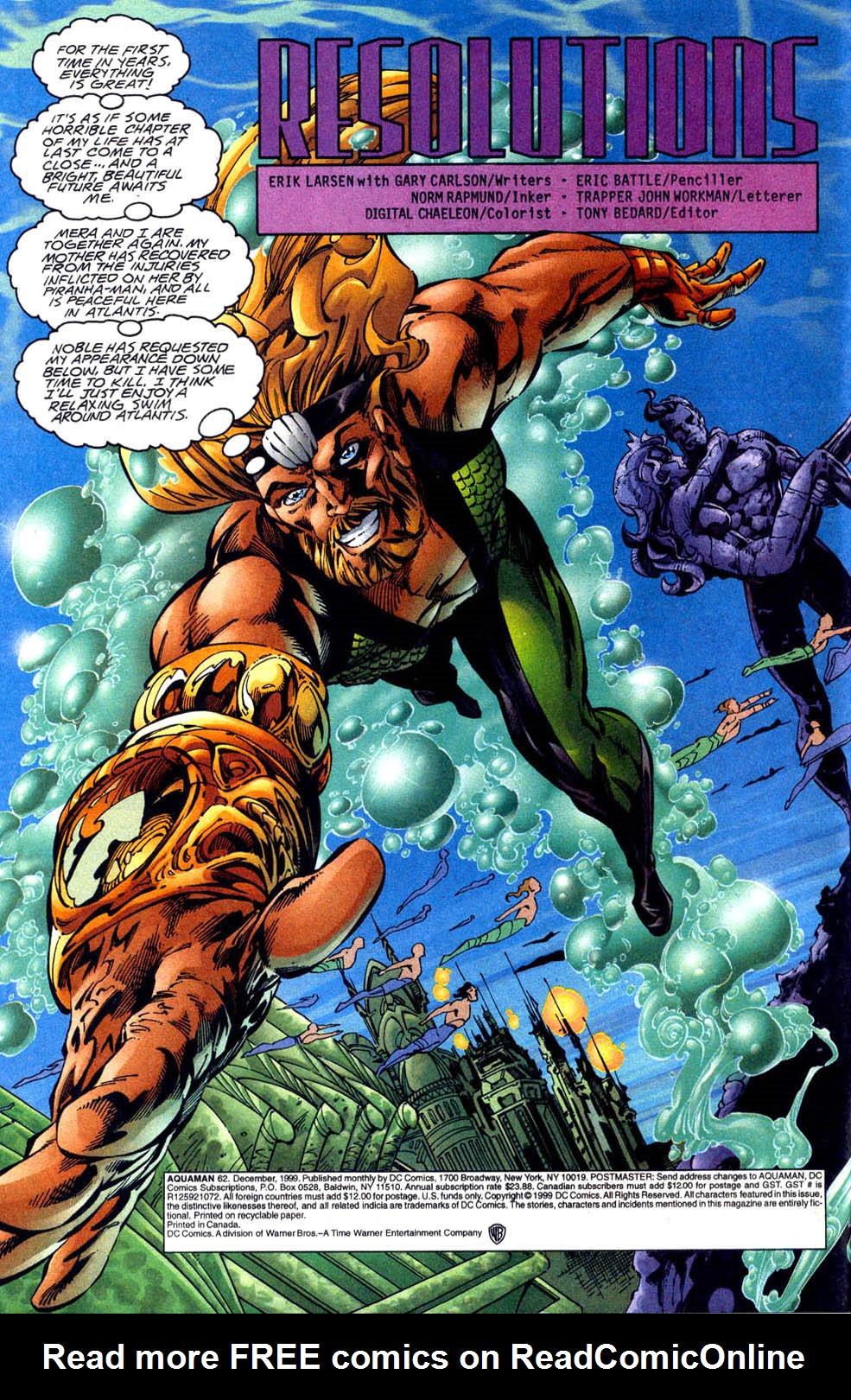 Read online Aquaman (1994) comic -  Issue #62 - 3