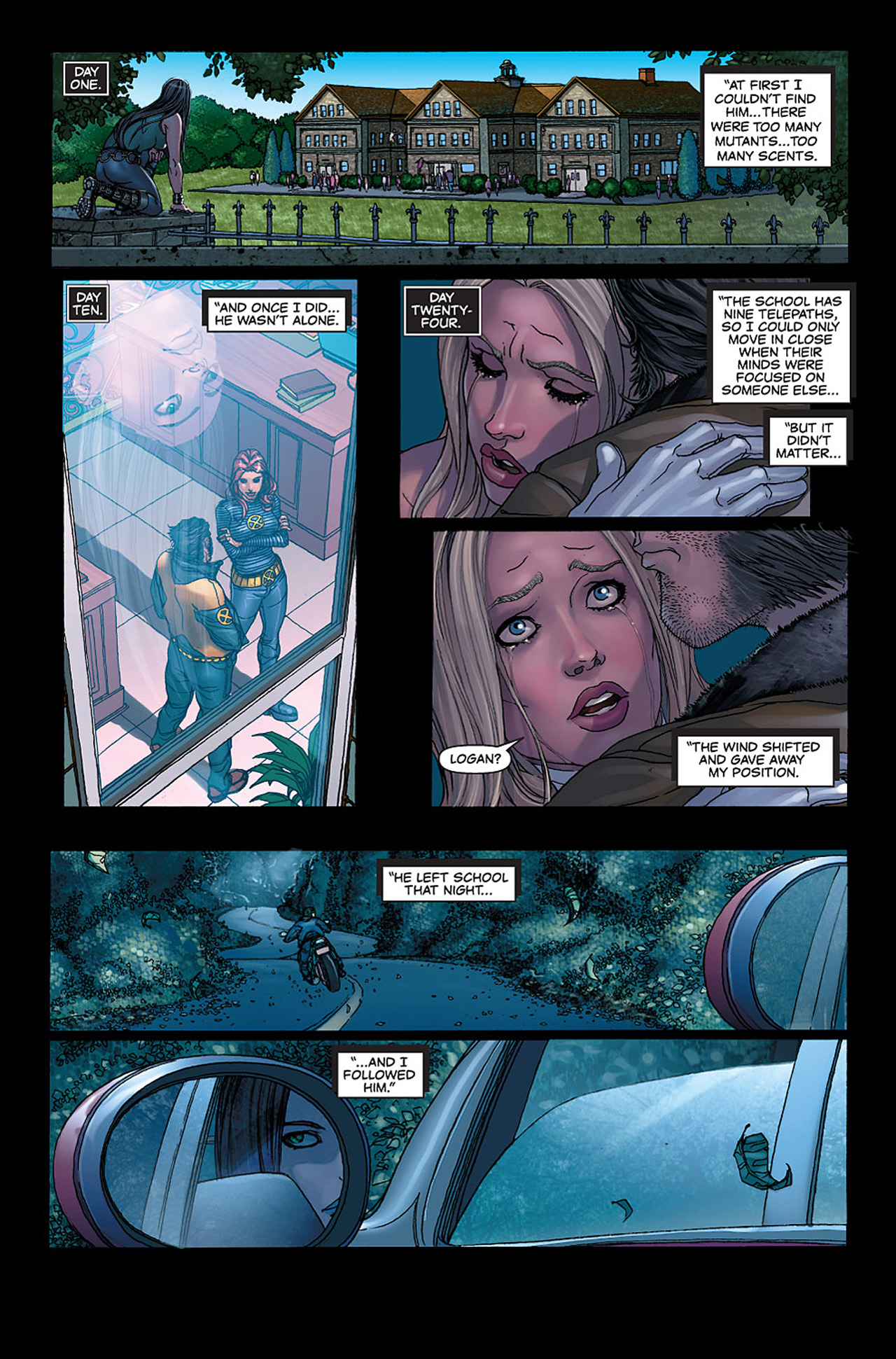 Read online X-23: Target X comic -  Issue #6 - 4