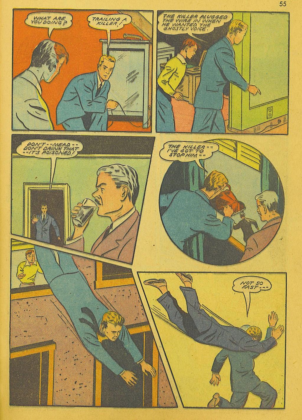 Read online Super-Magician Comics comic -  Issue #10 - 55