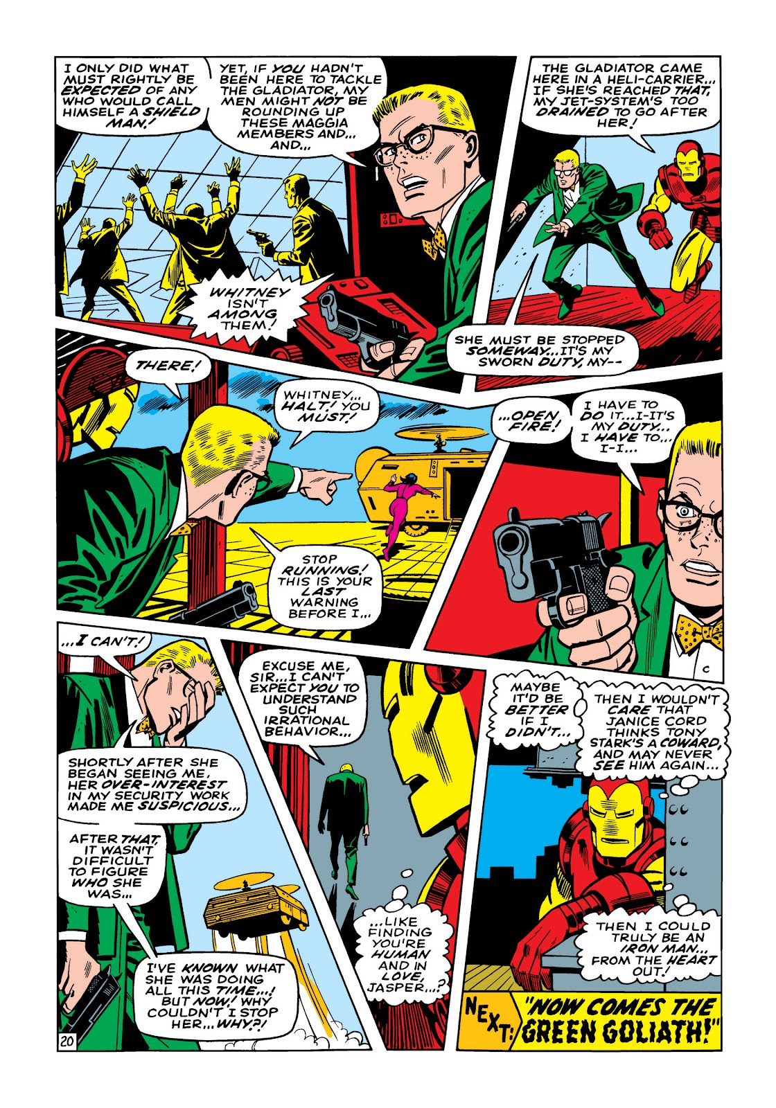 Read online Marvel Masterworks: The Invincible Iron Man comic -  Issue # TPB 5 (Part 2) - 53