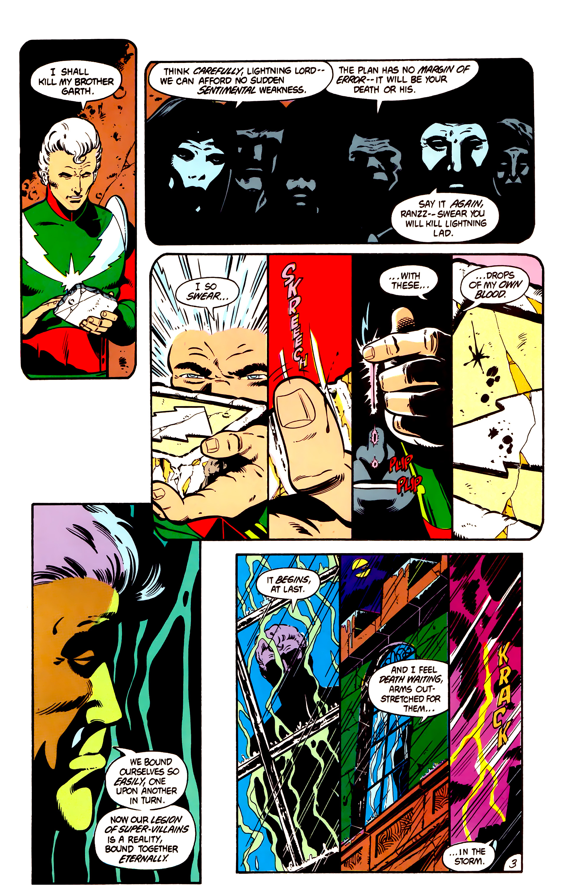 Legion of Super-Heroes (1984) 1 Page 4