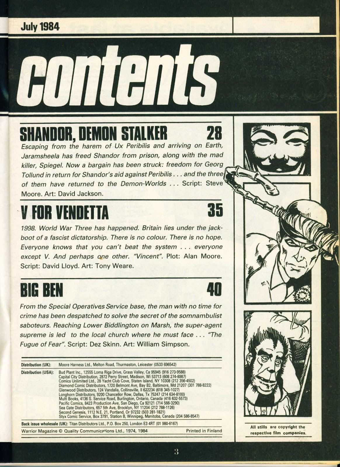 Warrior Issue #20 #21 - English 3